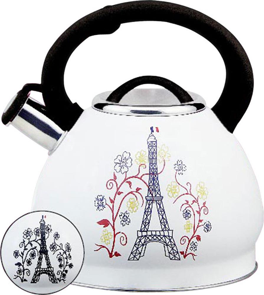 Чайник Rainstahl, 7628-30RS\WK БАШНЯ, белый, 3 л чайник rainstahl со свистком цвет белый 3 л 7540 30rs wk