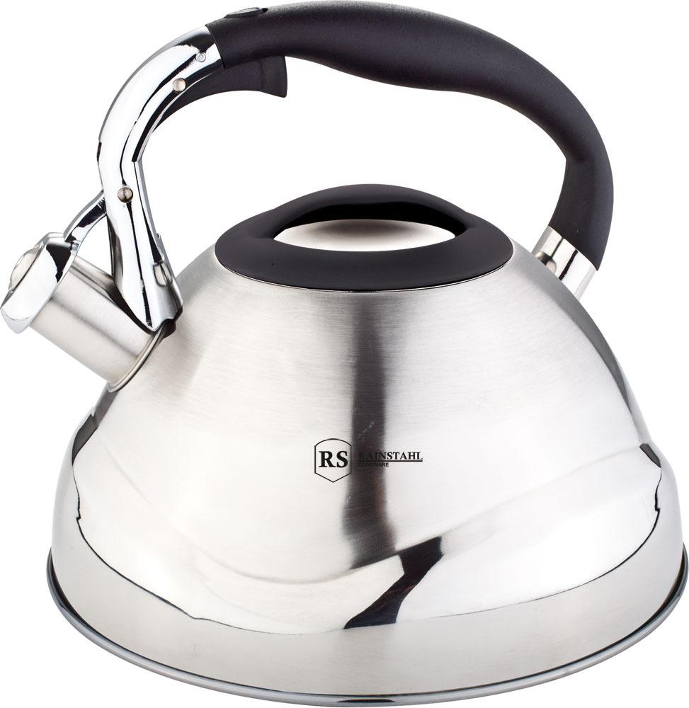 лучшая цена Чайник Rainstahl, 7607-30RS\WK, черный, 3 л