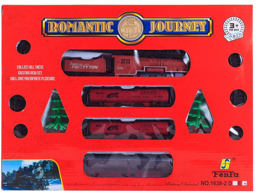Игрушка S+S Toys Железная дорога, с аксессуарами s s toys 012 03 с фигурками и аксессуарами