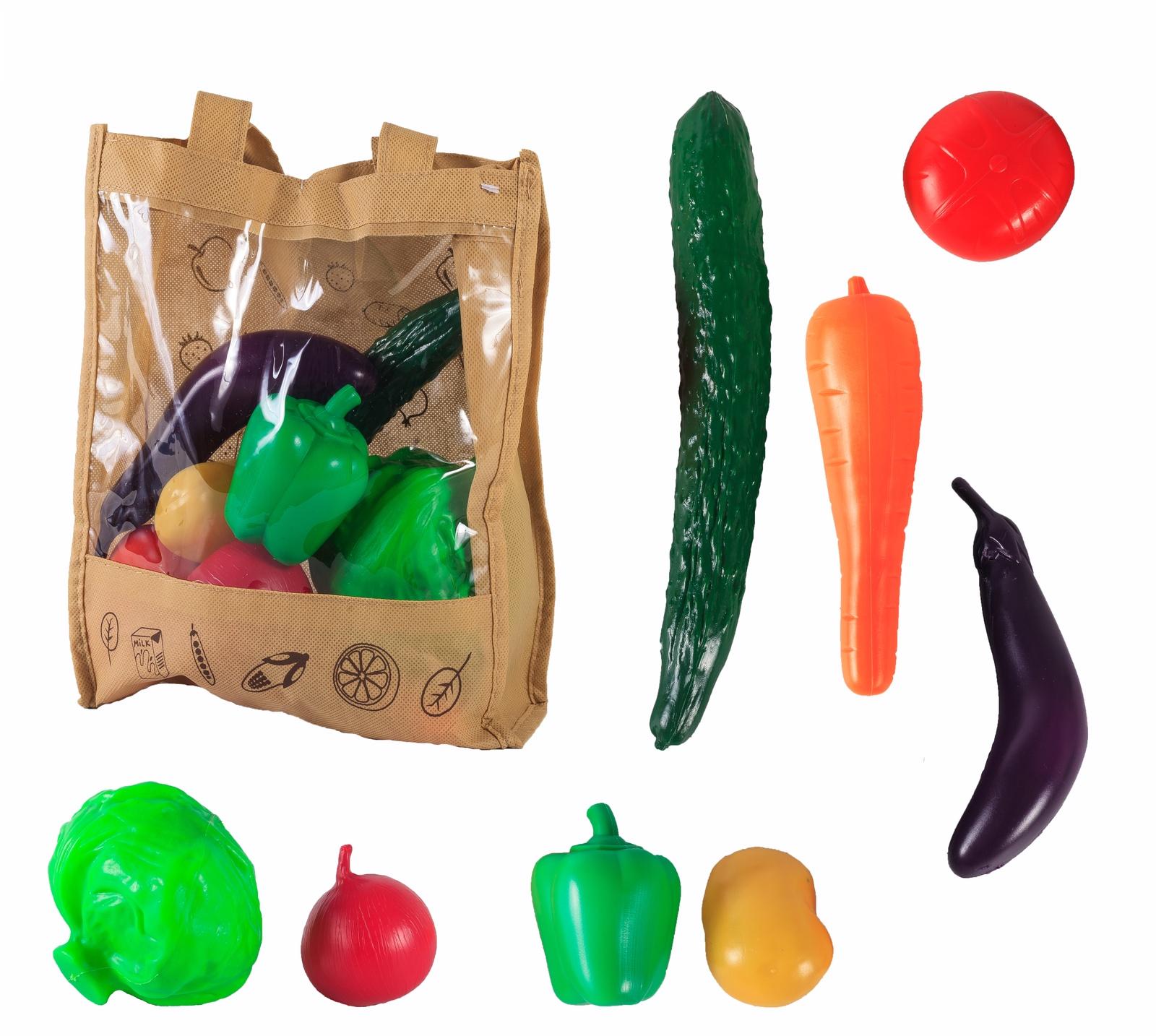 Игровой набор S+S Toys Продукты в сумке игровой набор s s toys мельница пингвин eq80019r не разлей вода