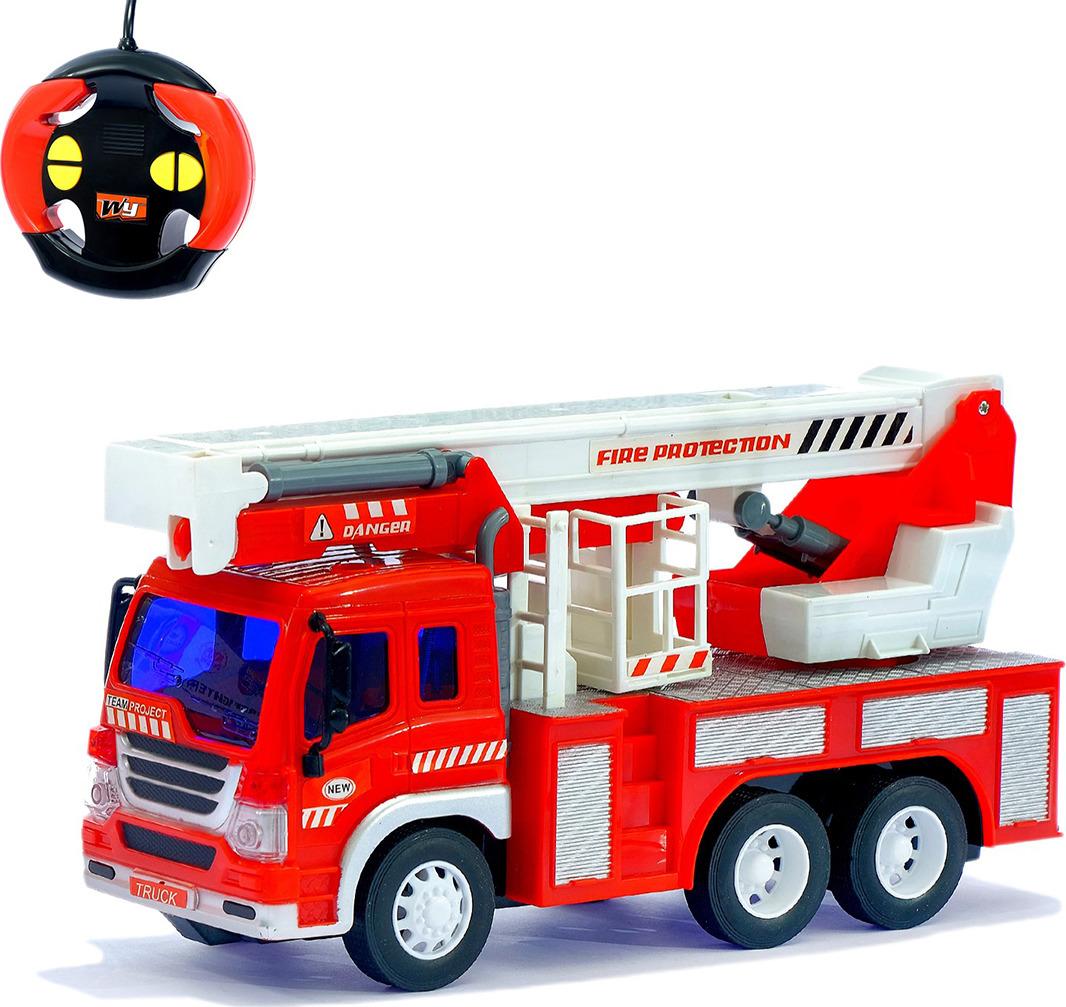 Машинка радиоуправляемая Пожарная служба, 1390394 м чистякова пожарная техника