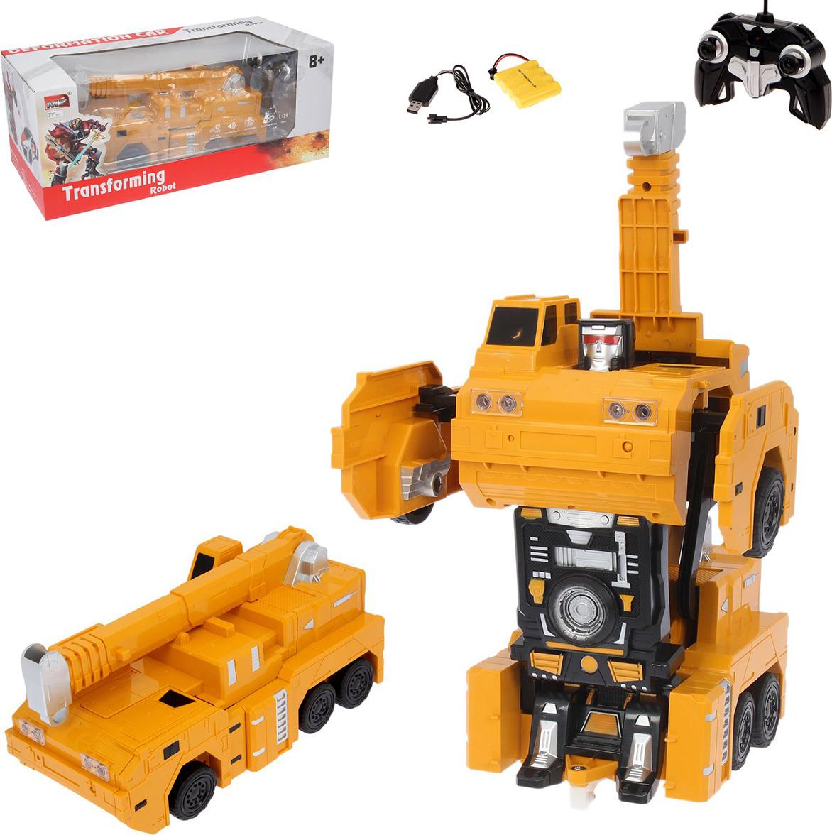 Робот-трансформер на радиоуправлении MZ Кранобот, 2394296 матрас alliance независимый пружинный мблок 160х200 см