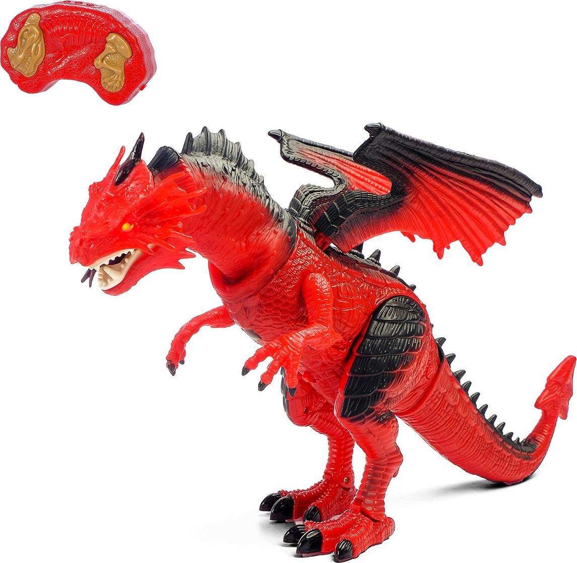 Игрушка радиоуправляемая Дракон, 2410036 радиоуправляемая игрушка airhogs вертолёт с камерой черный