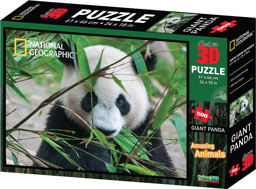 3D Пазл Prime3D Большая панда, 10071