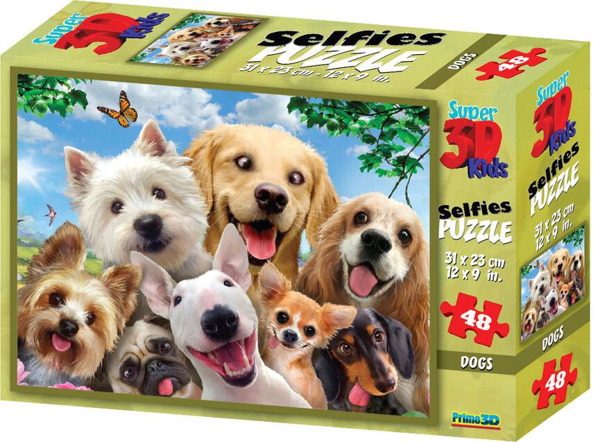 3D Пазл Prime3D Собаки селфи-2, 10539