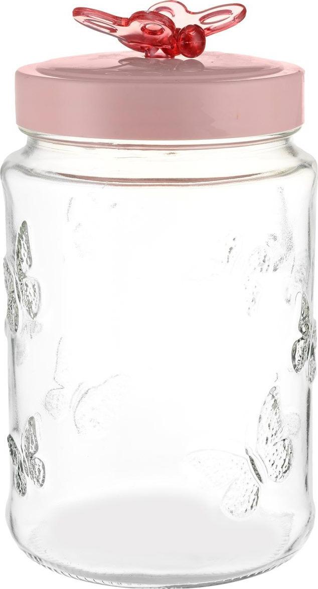 Емкость для продуктов Herevin, 142201-000, розовый, 1.5 л емкость для продуктов herevin 1 л