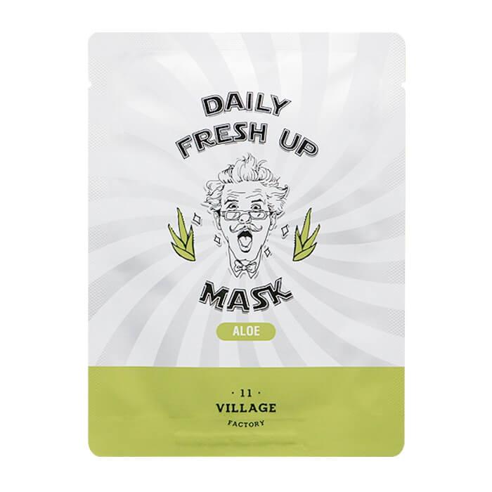 Тканевая маска Village 11 Factory Daily Fresh Up Mask Aloe, 20 мл garnier маска тканевая для сухой и чувствительной кожи комфорт увлажняющая