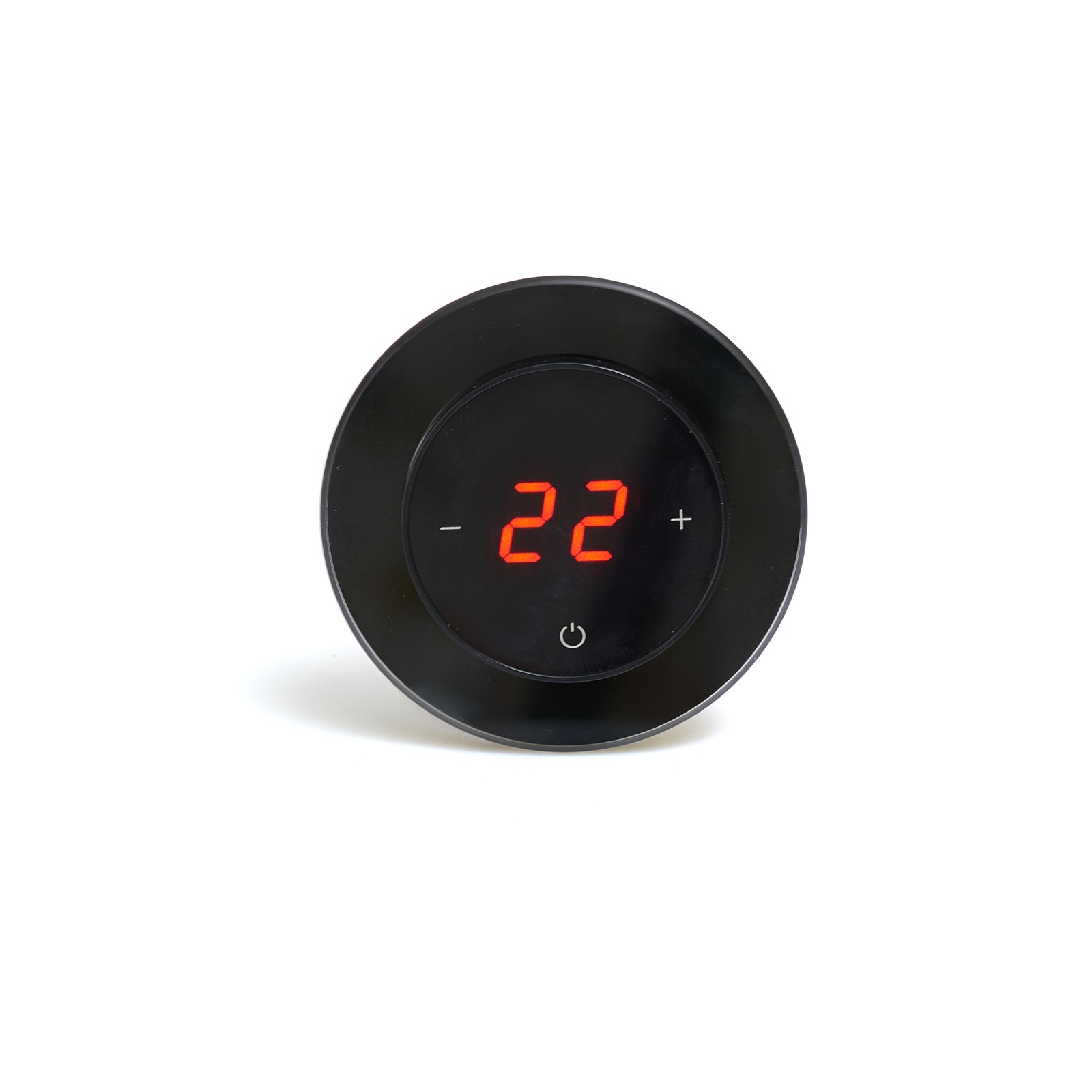 цена на Регулятор теплого пола AURA RONDA 9005, 3409005, черный