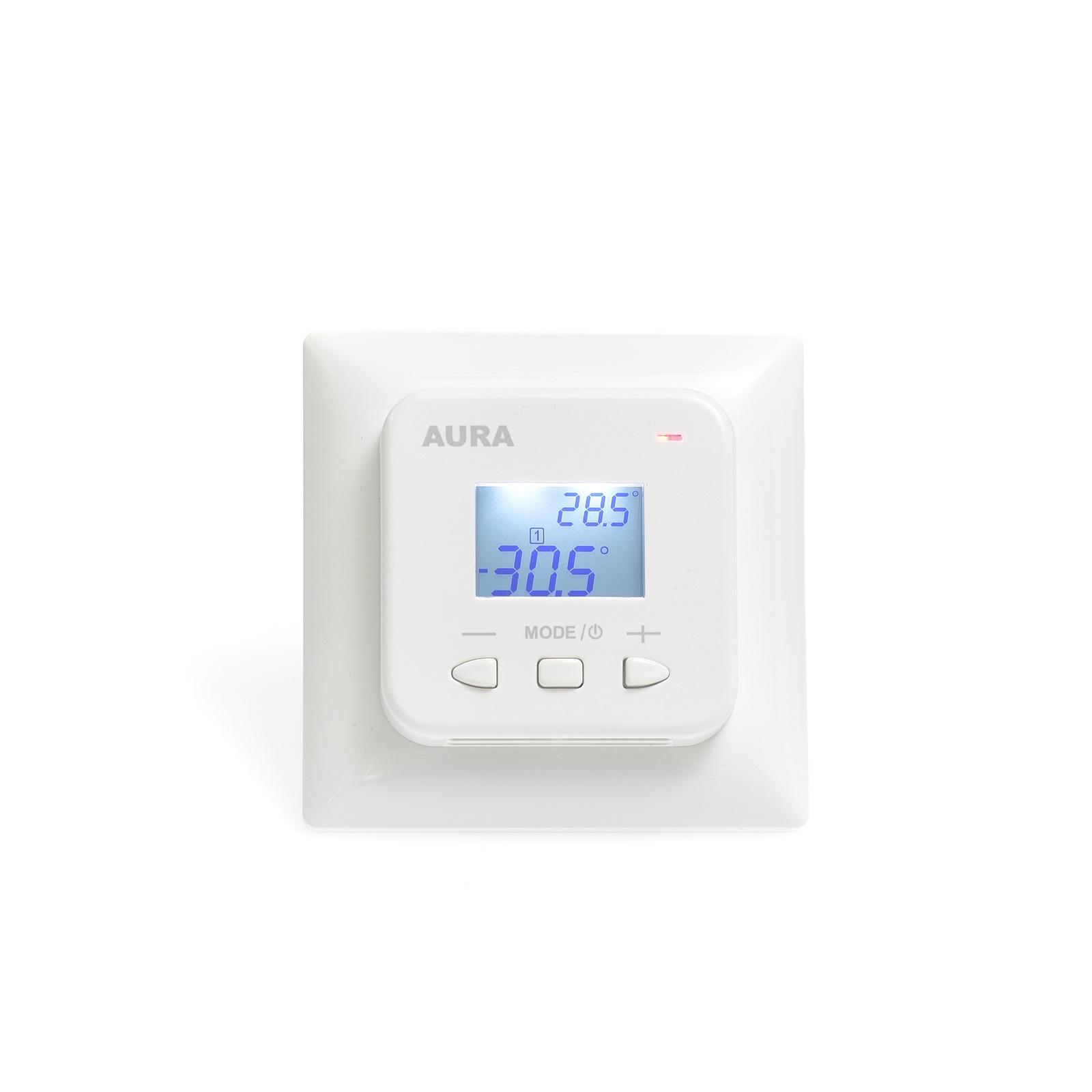 Фото - Регулятор теплого пола AURA LTC 440, 3201440, белый терморегулятор aura ltc 530 white