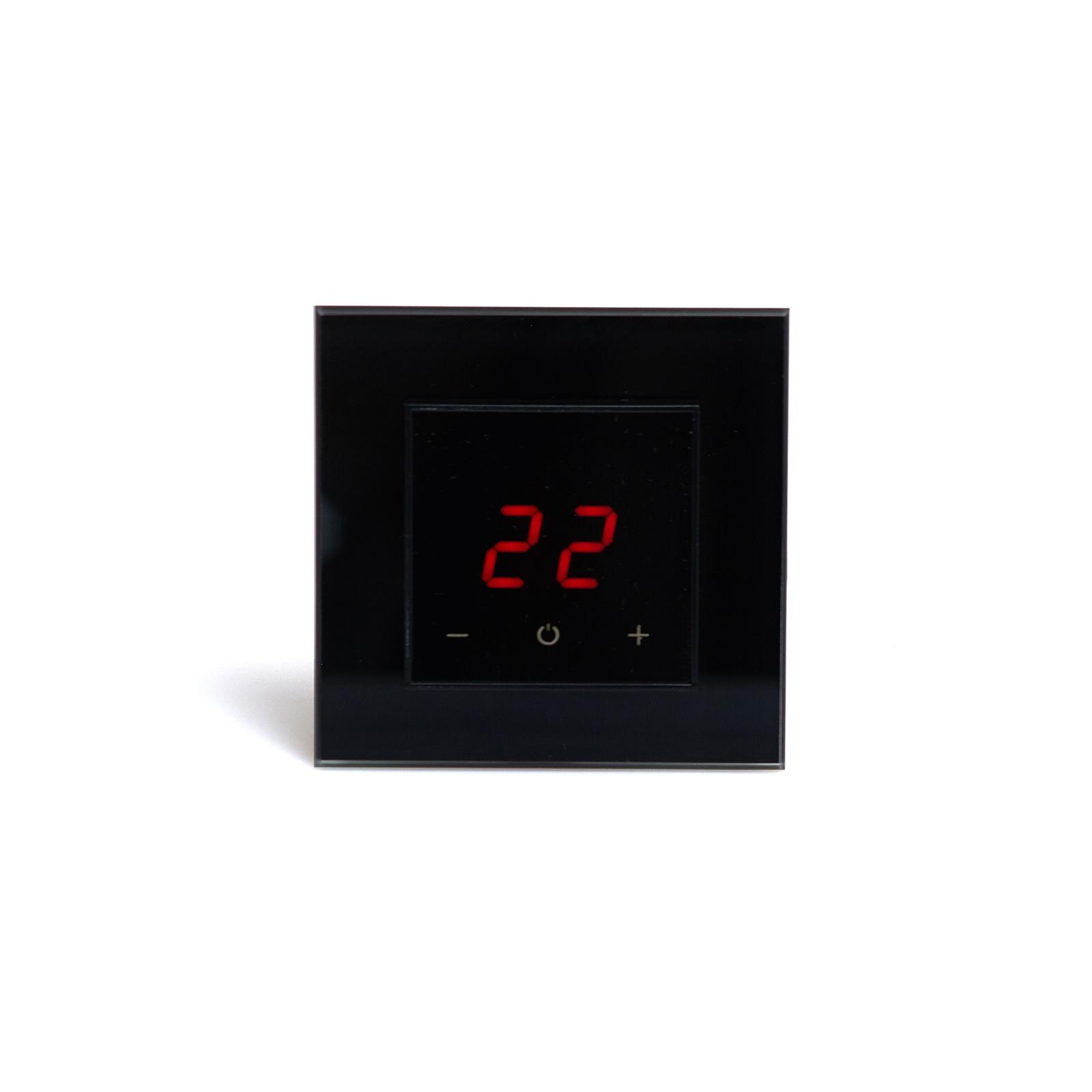 цена на Регулятор теплого пола AURA ORTO 9005, 3509005, черный