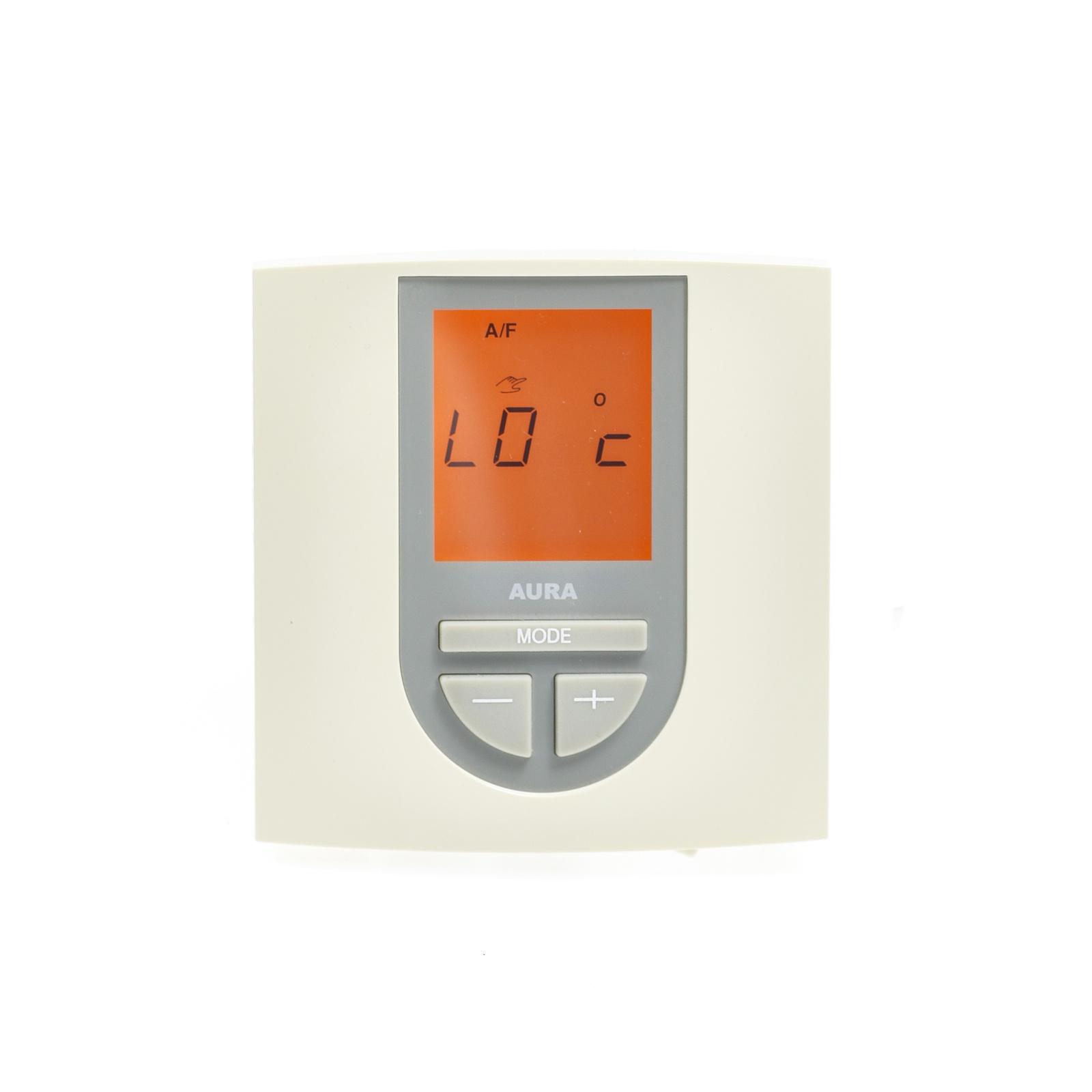 Регулятор теплого пола AURA VTC 550 кремовый, 3102550, бежевый цена