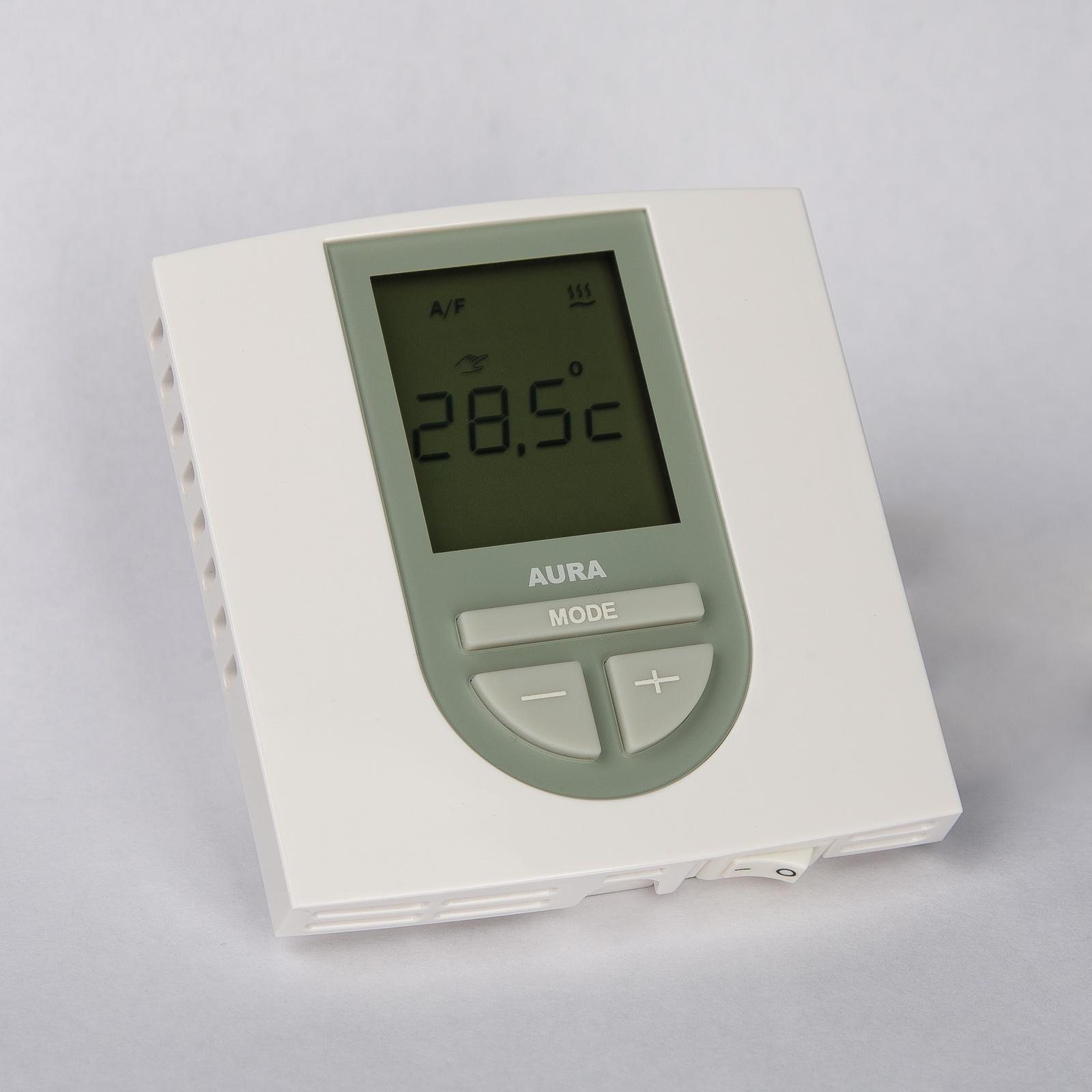 Регулятор теплого пола AURA VTC 550, 3101550, белый цена
