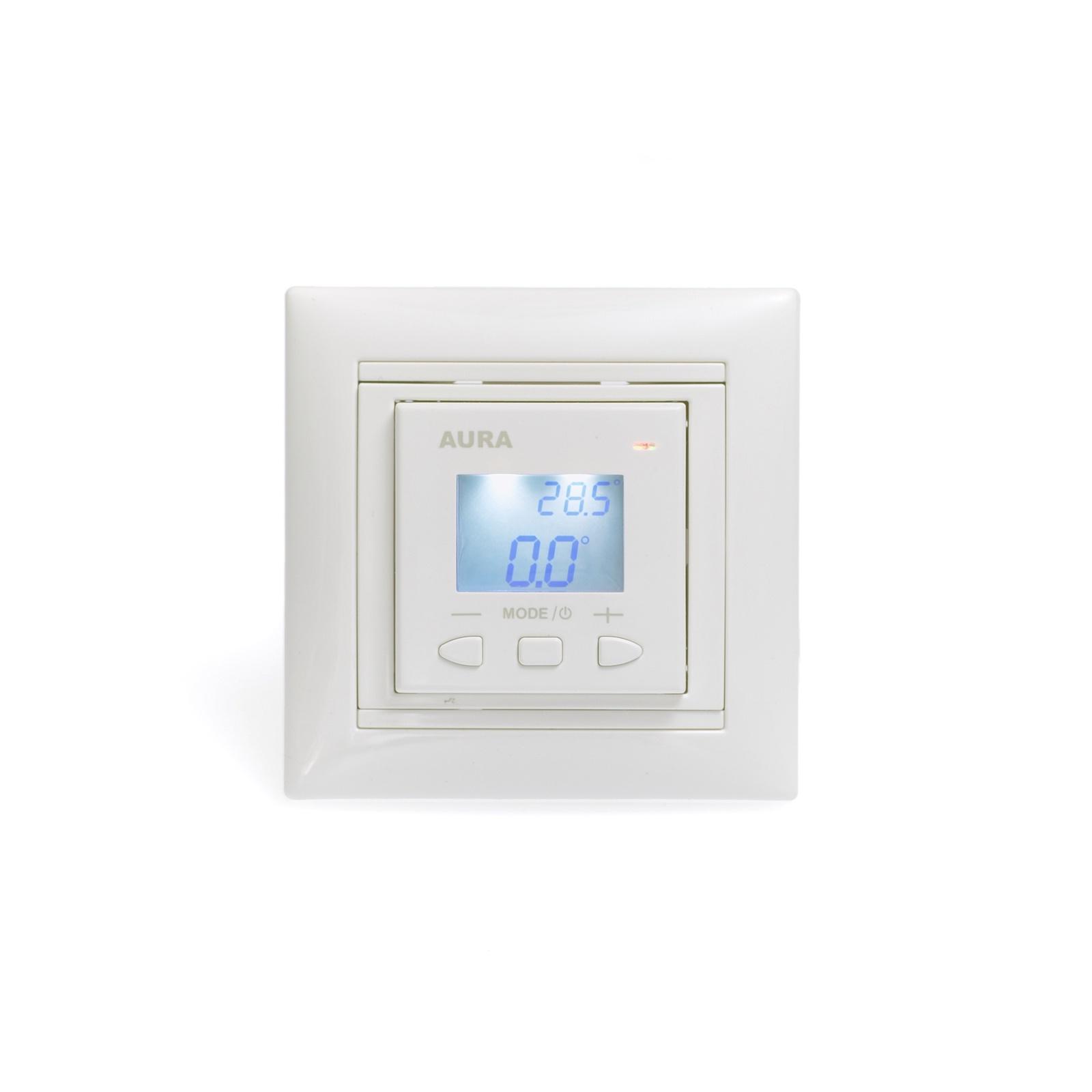 Регулятор теплого пола AURA LTC 070, 3201070, белый цена