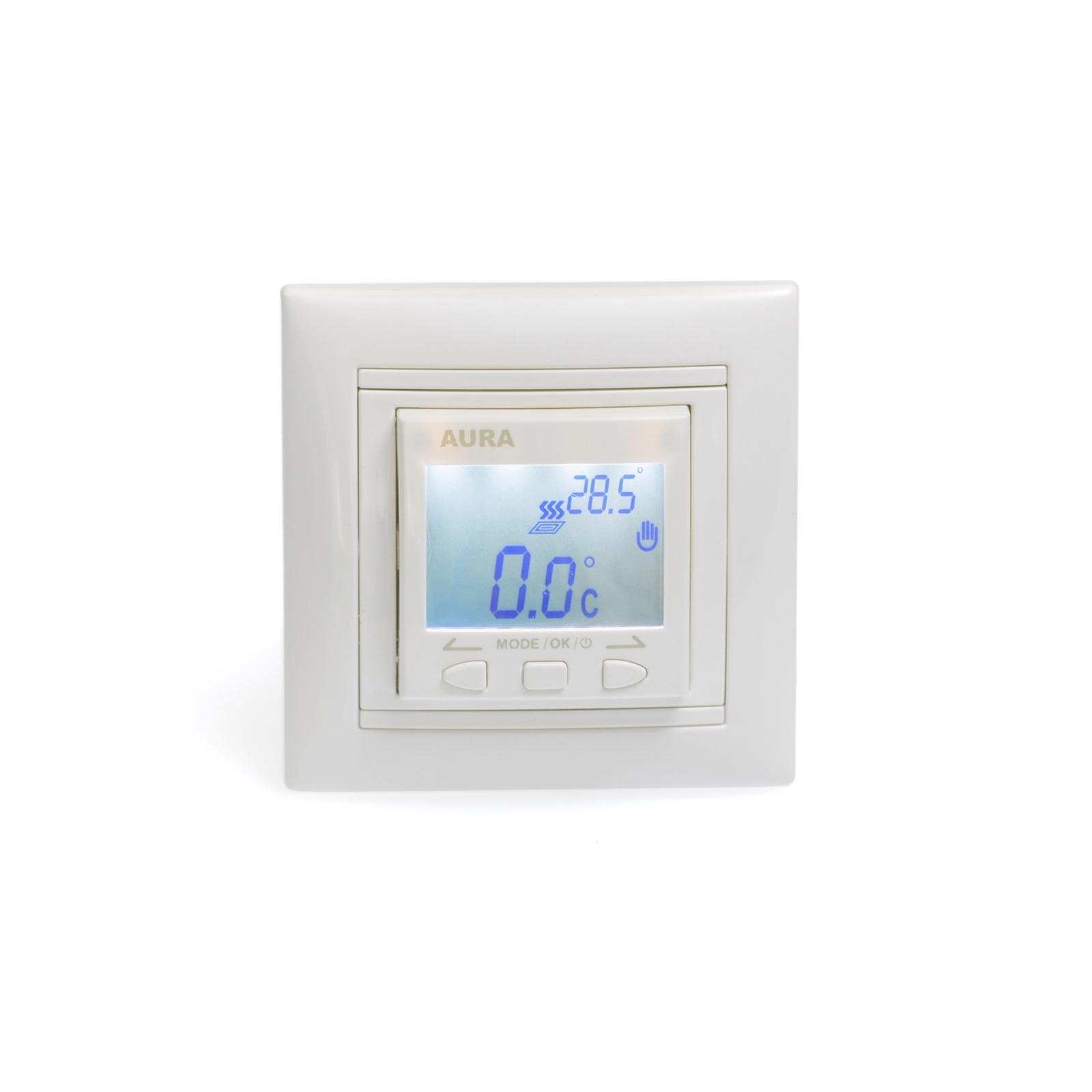 Регулятор теплого пола AURA LTC 090, 3201090, белый стоимость