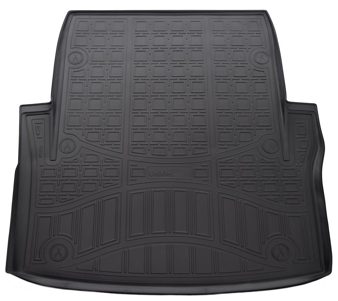 Коврик в багажник Norplast NPA00-T07-100NPA00-T07-100Точное прилегание Без неприятного запаха Высокие бортики Не скользят Подходит на:BMW 3 F30-F34 2015-BMW 3 F30-F34 2011-2016 Полиуретановые автомобильные коврики фирмы «Норпласт» надежно защищают обшивку салона и багажника от влаги и загрязнений. Это высококачественное изделие, которое гарантированно прослужит длительный срок. Каждый комплект ковриков производится индивидуально для определённой модели автомобиля. На этапе разработки изделий применяется технология 3D сканирования салона, благодаря чему, каждый коврик имеет оригинальную форму, которая точно повторяет контур пола или багажного отделения автомобиля.