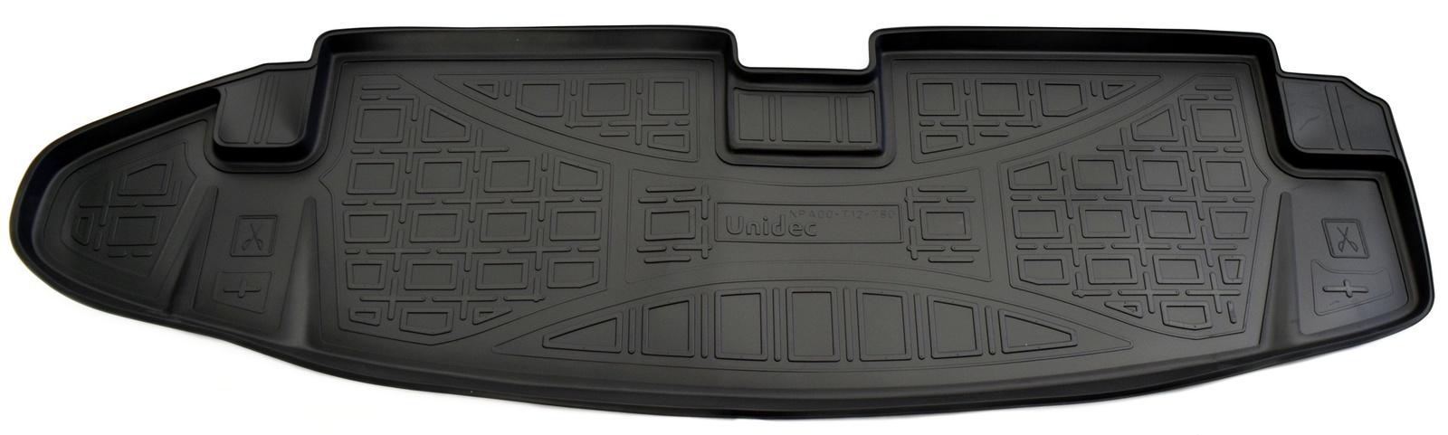 Коврик в багажник Norplast NPA00-T12-780NPA00-T12-780Точное прилегание Без неприятного запаха Высокие бортики Не скользят Подходит на:CHEVROLET Trail Blazer 2012-2016 Полиуретановые автомобильные коврики фирмы «Норпласт» надежно защищают обшивку салона и багажника от влаги и загрязнений. Это высококачественное изделие, которое гарантированно прослужит длительный срок. Каждый комплект ковриков производится индивидуально для определённой модели автомобиля. На этапе разработки изделий применяется технология 3D сканирования салона, благодаря чему, каждый коврик имеет оригинальную форму, которая точно повторяет контур пола или багажного отделения автомобиля.