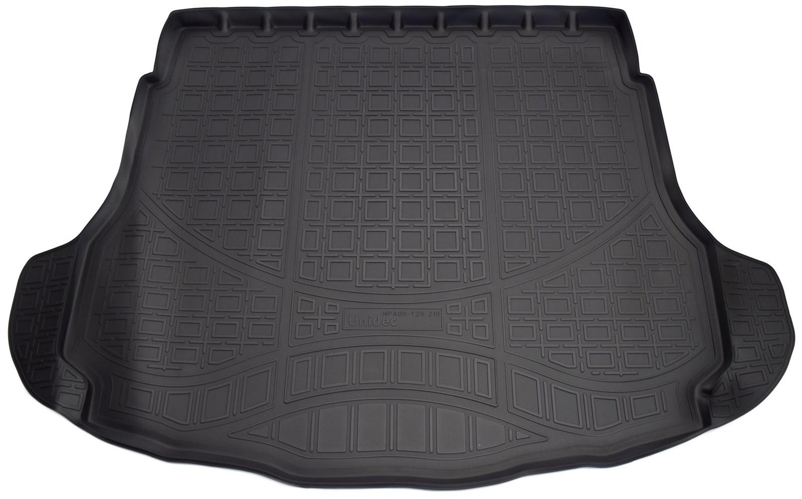 Коврик багажника Norplast для Great Wall Hover H6 2012, NPA00-T29-210, черный комплект ковриков в салон автомобиля novline autofamily great wall hover h6 2012 elegant
