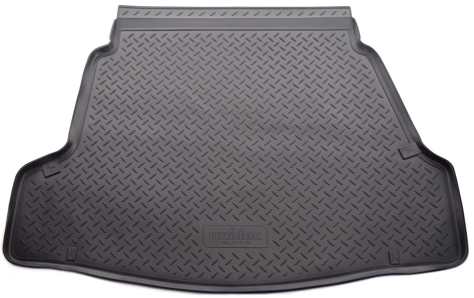 Коврик багажника Norplast для Hyundai i40 VF SD 2011, NPL-P-31-19, черный