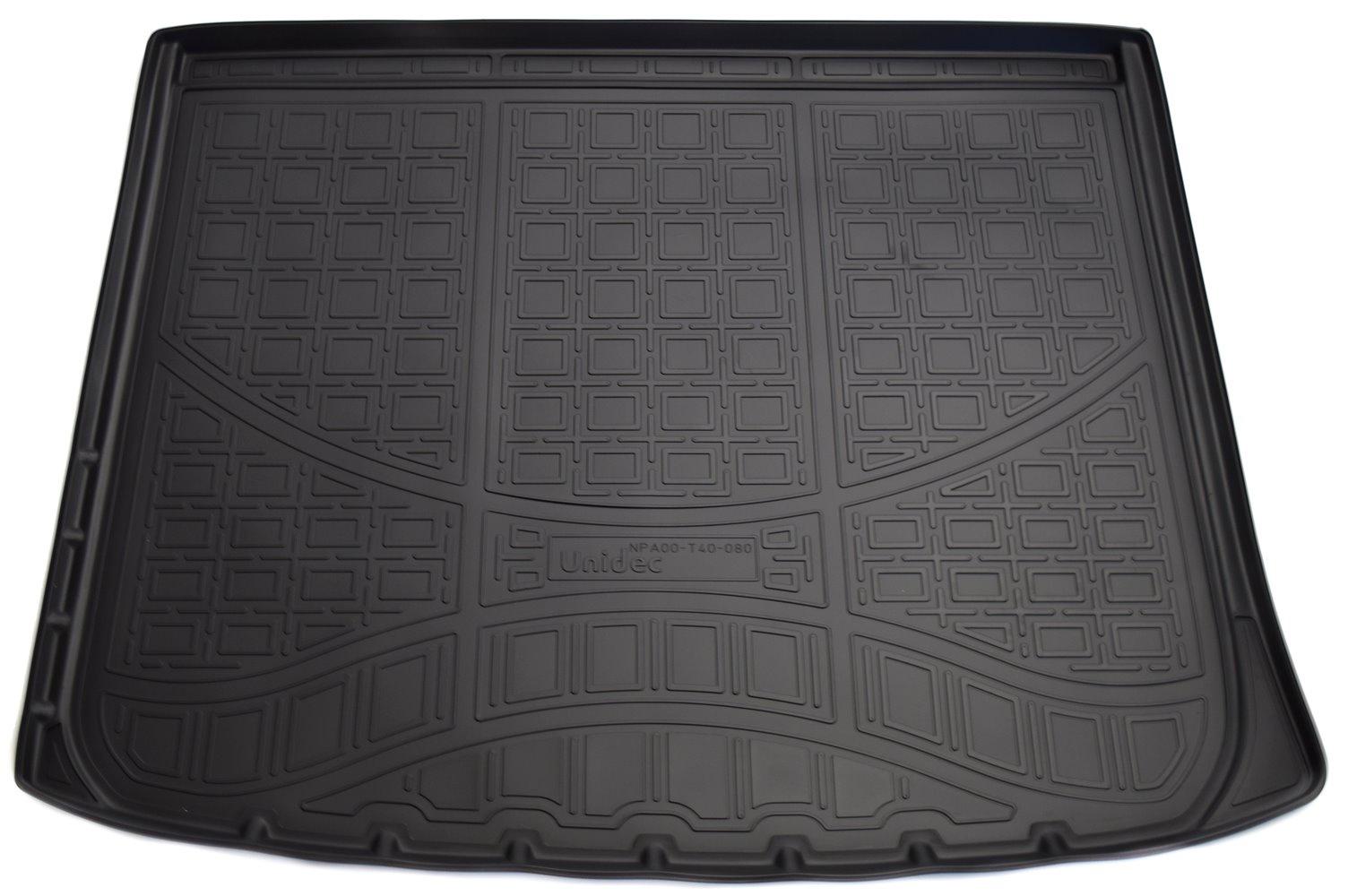 Коврик багажника Norplast для Jeep Cherokee 2013, NPA00-T40-080, черный коврик багажника norplast для jeep grand cherokee wk 2010 npa00 t40 100 b бежевый