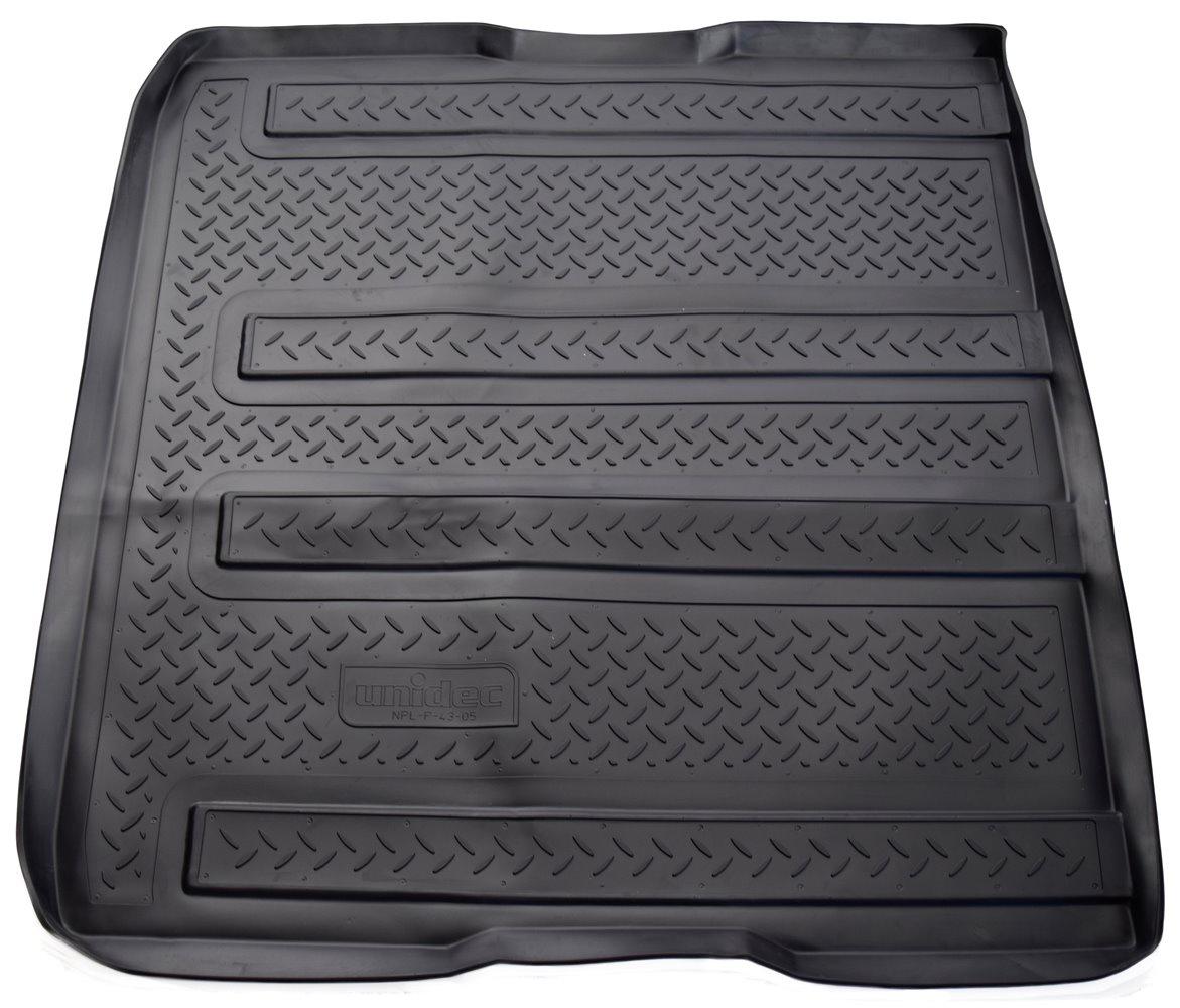 Коврик багажника Norplast для Kia Carnival MB 2006, NPL-P-43-05, черный