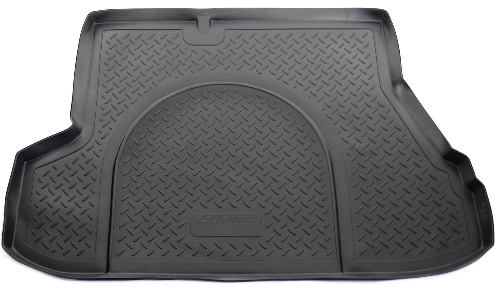 Коврик багажника Norplast для Kia Cerato FE 07 SD 2007-2009, NPL-P-43-17, черный