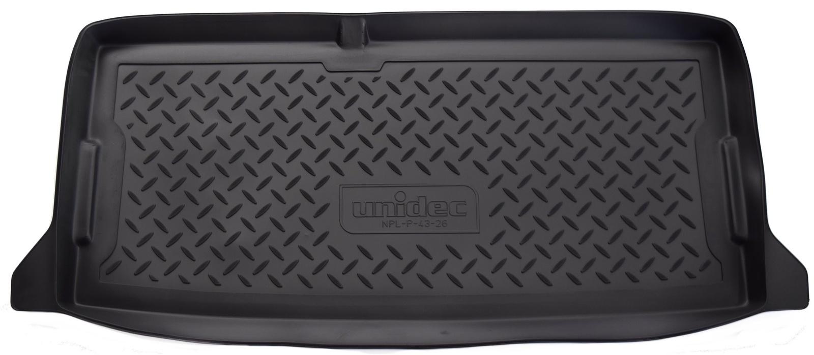 Коврик багажника Norplast для Kia Picanto BA07 HB 2007-2011, NPL-P-43-26, черный