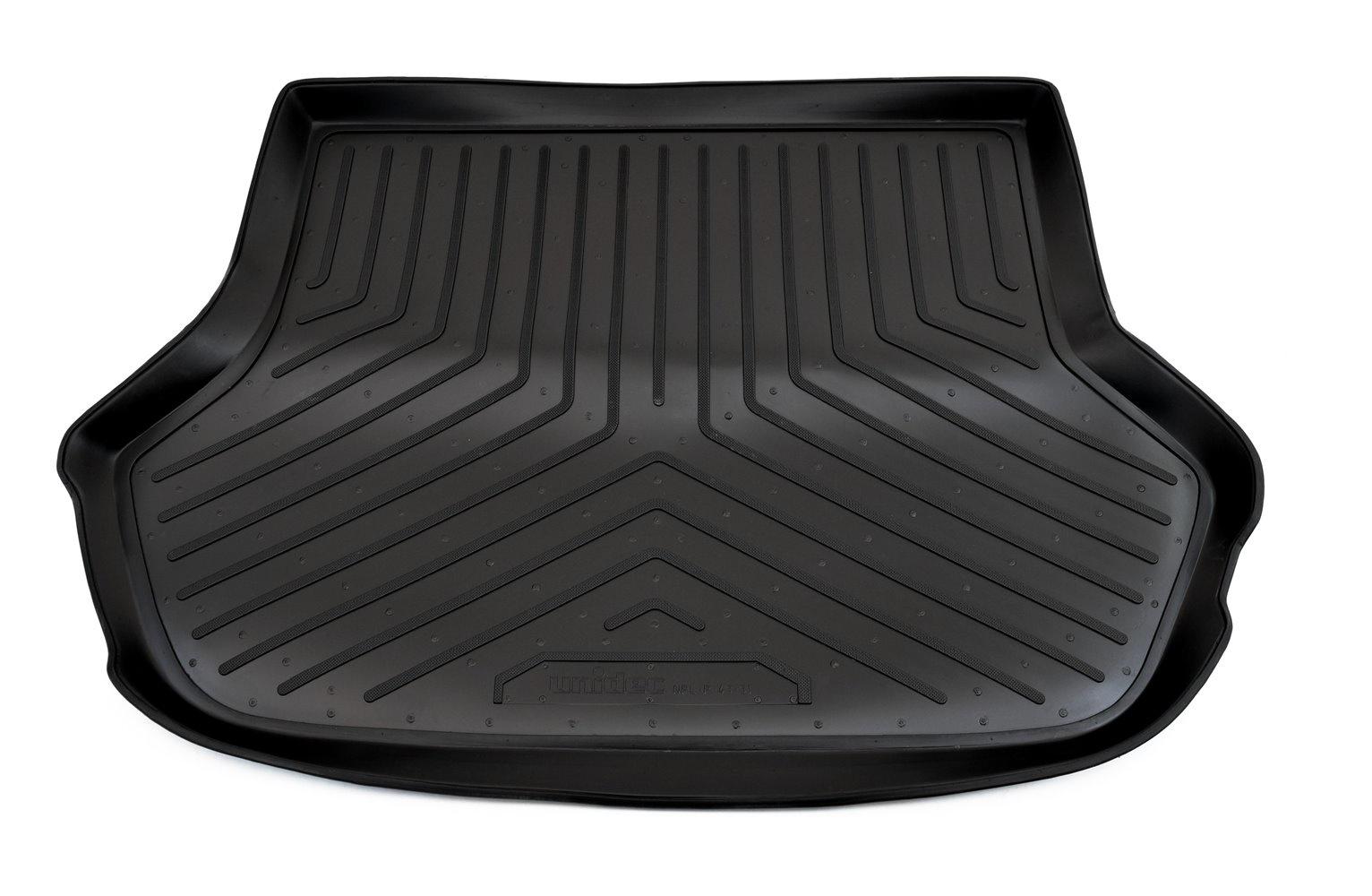 Коврик багажника Norplast для Kia Rio DC HB 2000-2005, NPL-P-43-31, черный