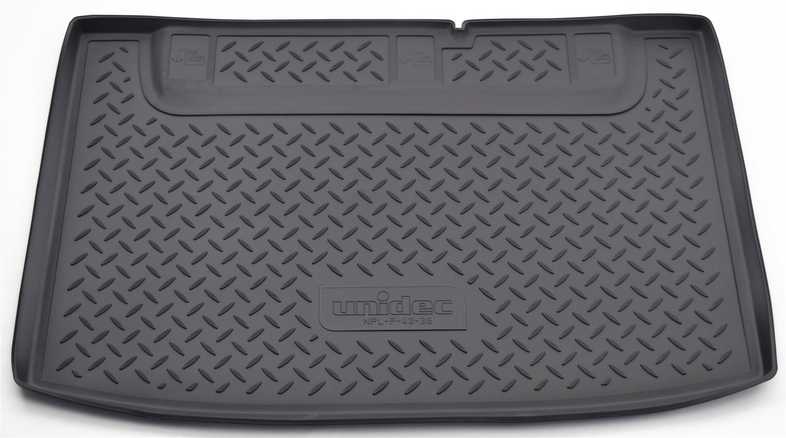 Коврик багажника Norplast для Kia Rio DE HB 2005-2011, NPL-P-43-36, черный