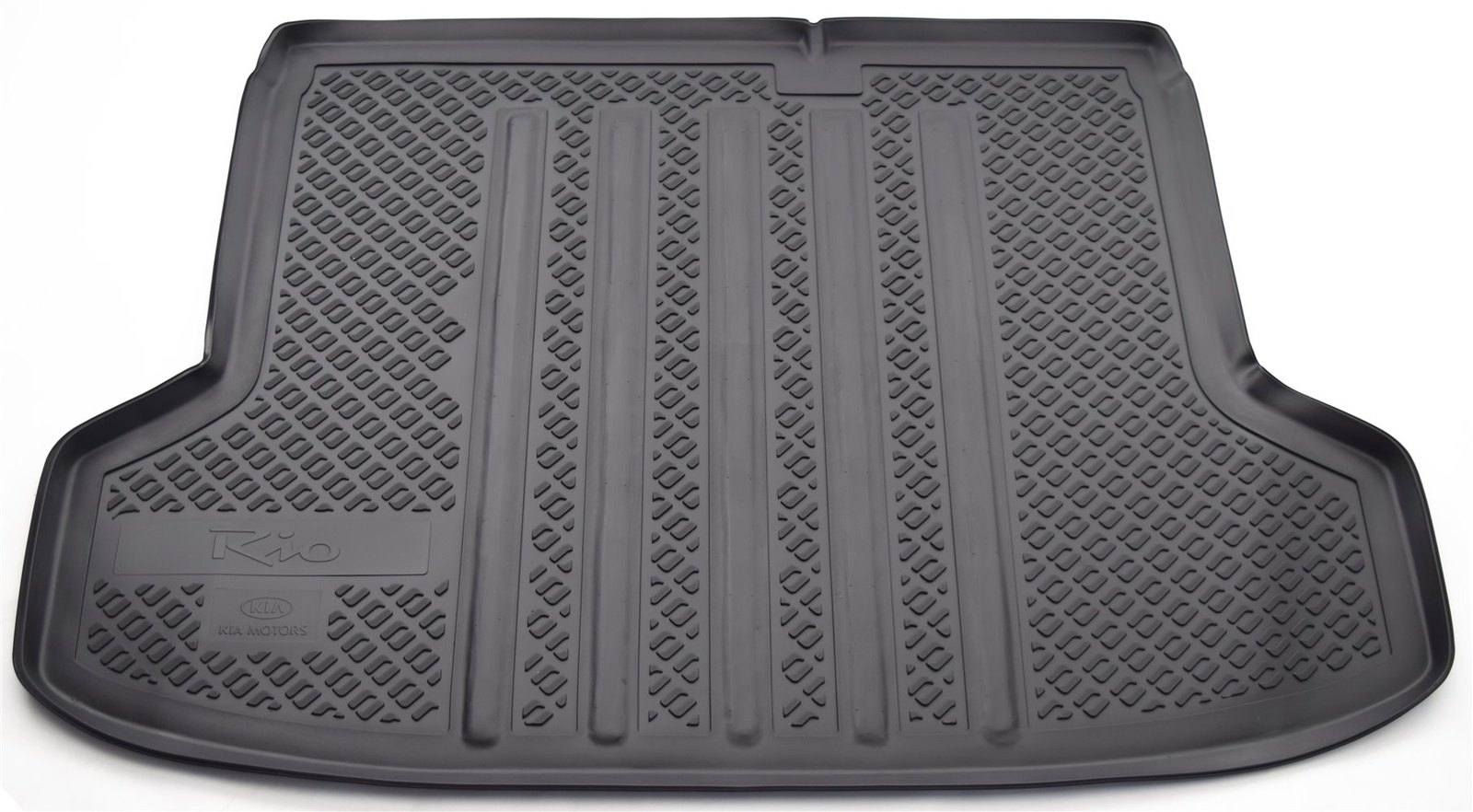 Коврик багажника Norplast для Kia Rio DE SD 2005-2011, NPL-P-43-35, черный