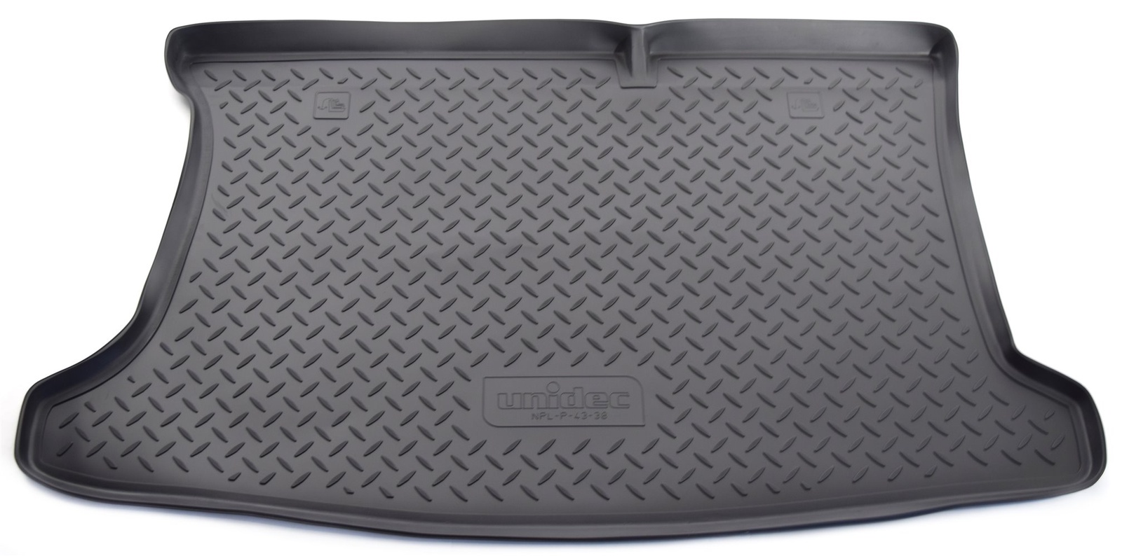 Коврик багажника Norplast для Kia Rio RUSQB HB 2012, NPL-P-43-38, черный