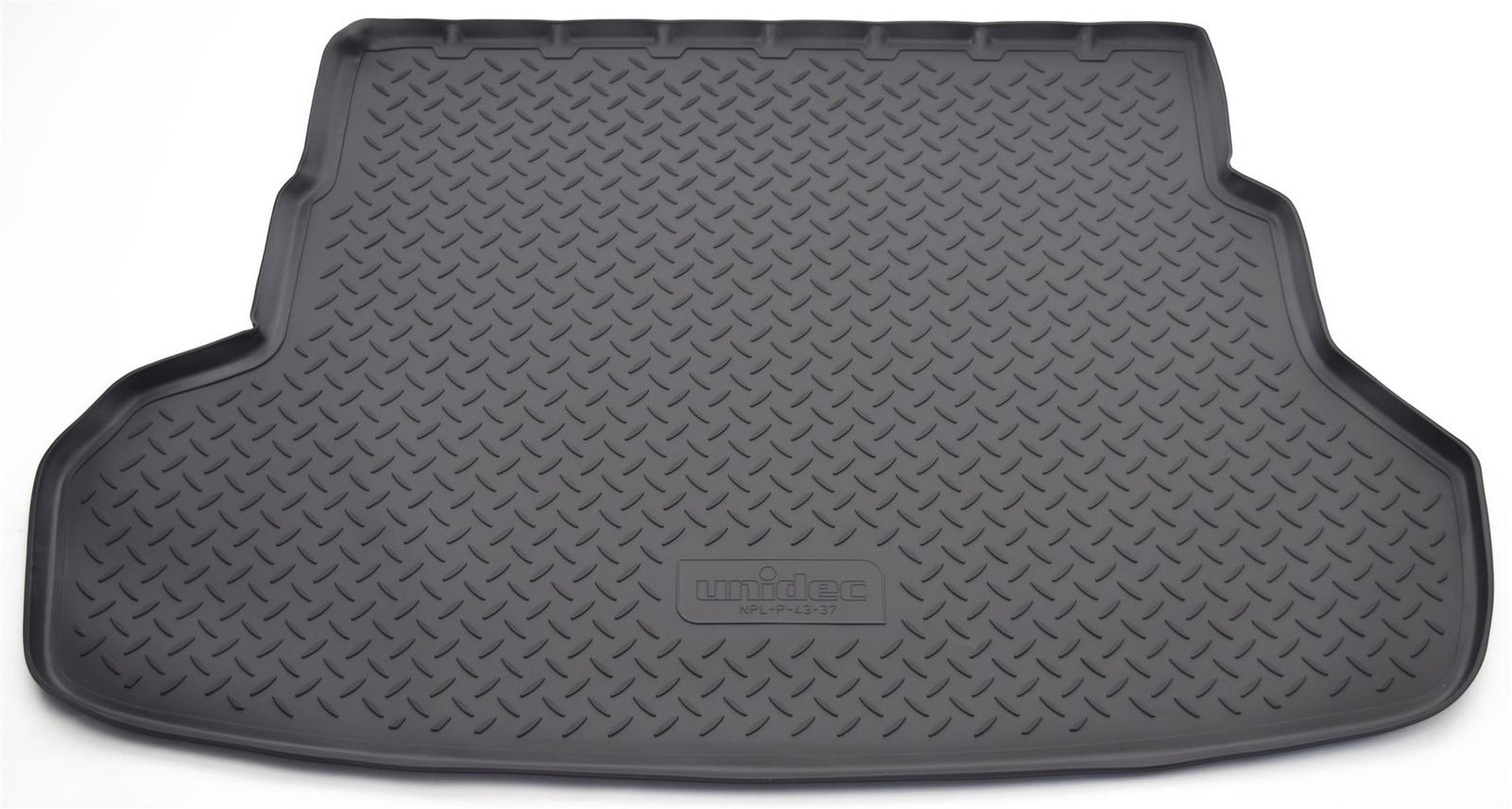 Коврик багажника Norplast для Kia Rio RUSQB SD 2011, NPL-P-43-37, черный