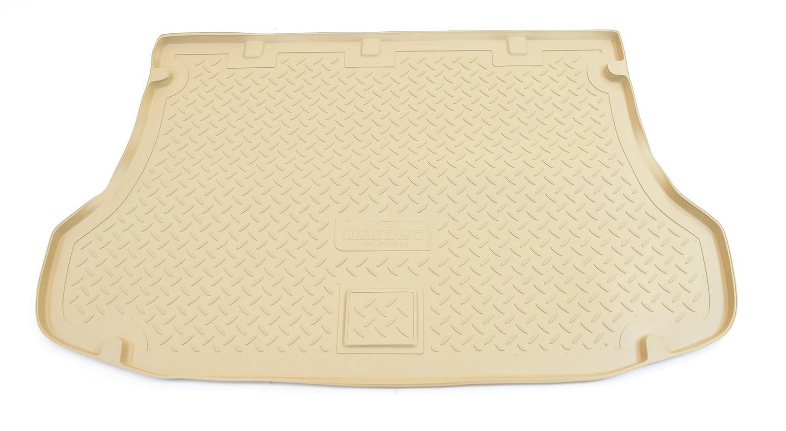 Коврик багажника Norplast для Kia Sorento JC 2002-2009, NPL-P-43-65-B, бежевый
