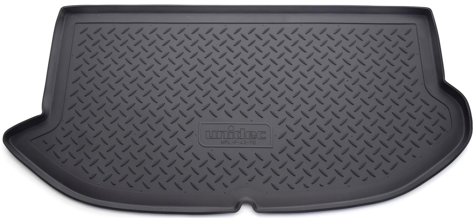 Коврик багажника Norplast для Kia Soul AM HB 2008-2013, NPL-P-43-70, черный