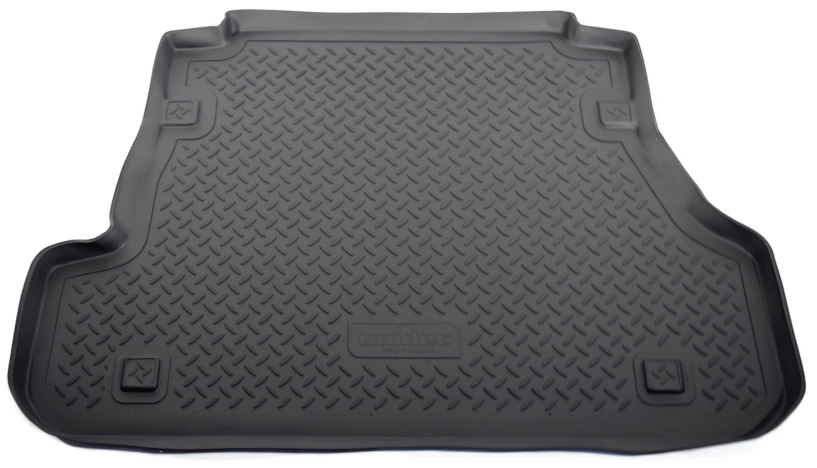 Коврик багажника Norplast для Kia Spectra FERUS SD 2006, NPL-P-43-44, черный