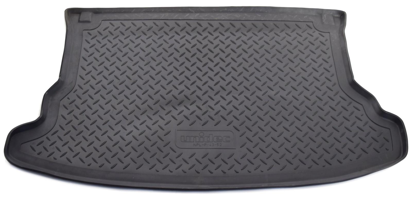 Коврик багажника Norplast для Kia Sportage JE 2004-2010, NPL-P-43-52, черный