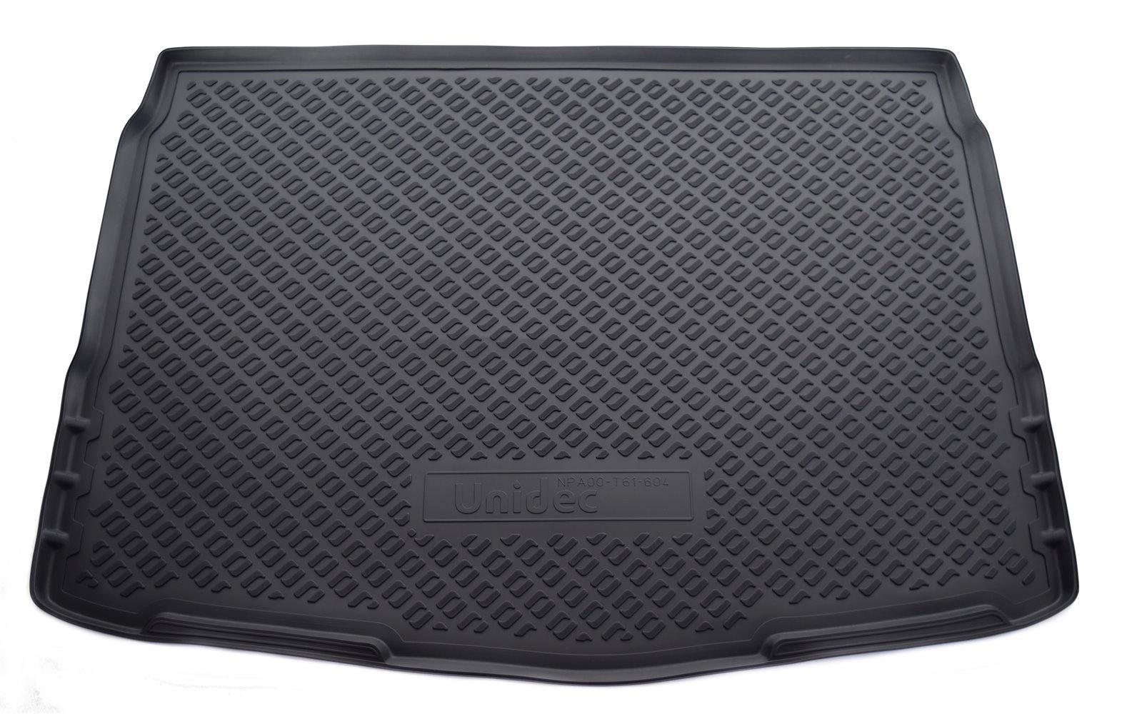 цена на Коврик для багажника Norplast для Nissan Qashqai, J11, 2014, NPA00-T61-604, черный