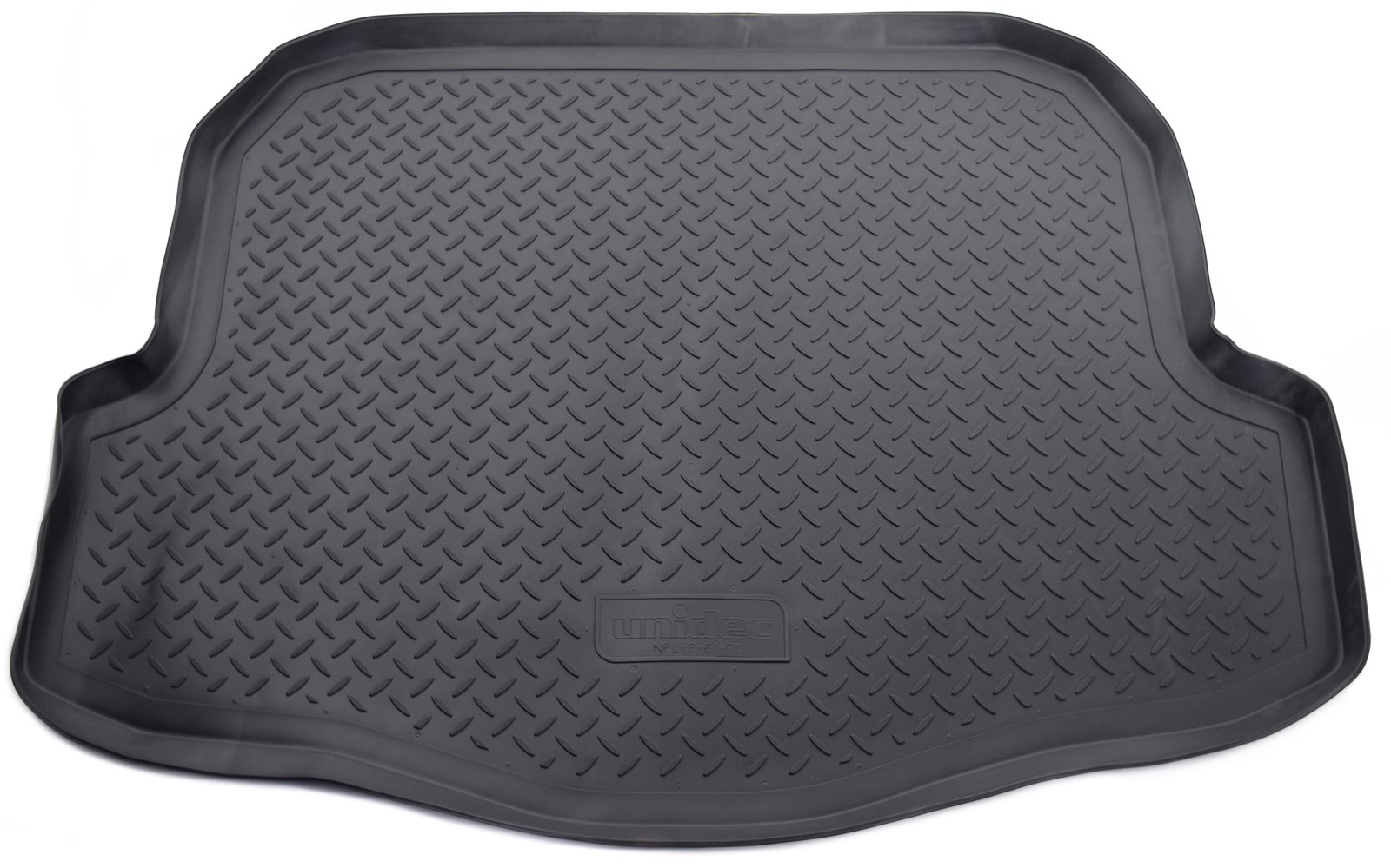 Коврик для багажника Norplast для Nissan Teana, SD, 2003-2008, NPL-P-61-70, черный