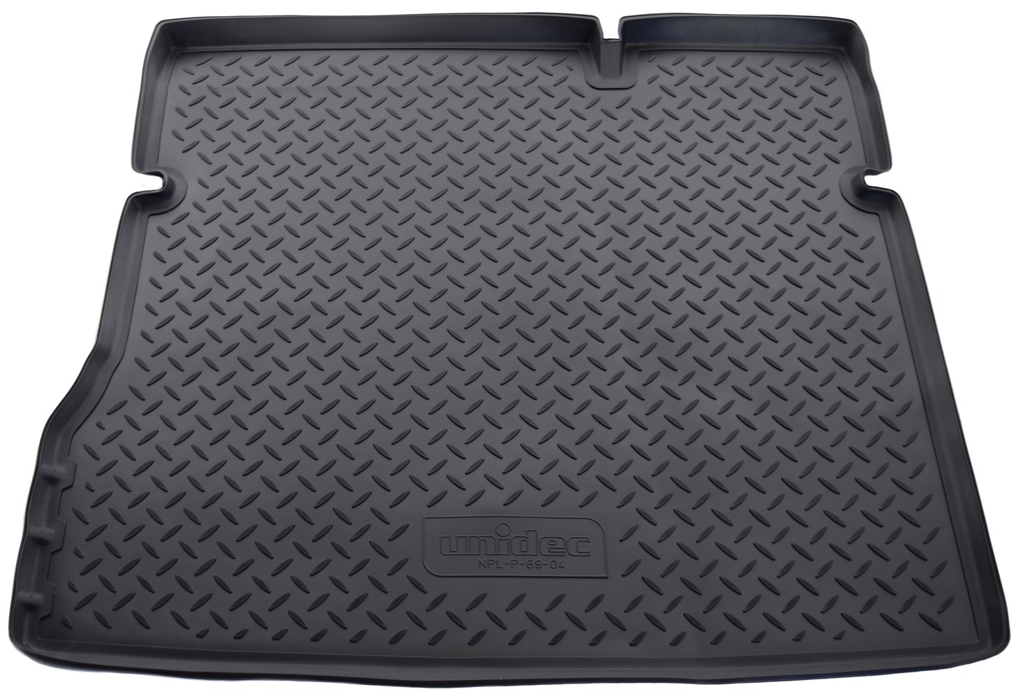 Коврик багажника для Nissan Terrano, 2WD, 2014, Renault Duster, 2WD, 2011, NPL-P-69-04, черный коврик багажника полиуретан чёрный 2awd norplast npl p 69 04 для renault duster 2011
