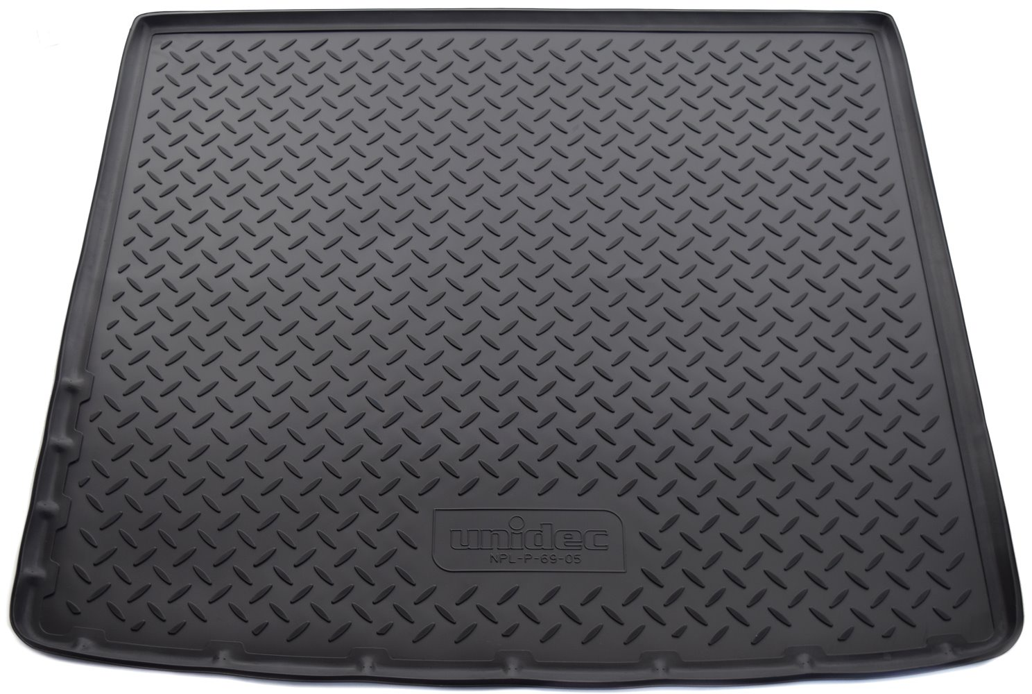 Коврик багажника для Nissan Terrano, 4WD, 2014, Renault Duster, 4WD, 2011, NPL-P-69-05, черный коврик багажника полиуретан чёрный 2awd norplast npl p 69 04 для renault duster 2011
