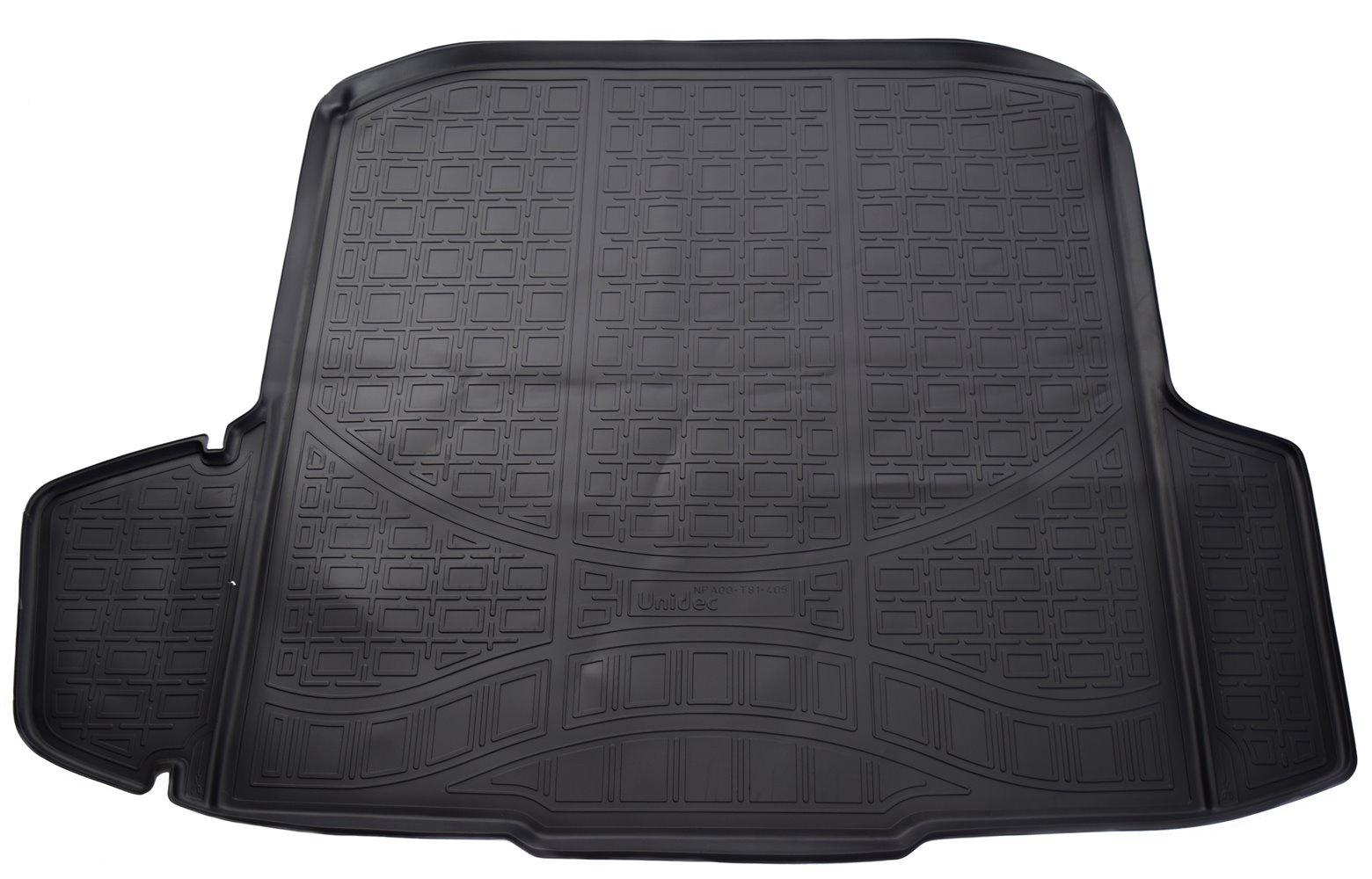 Коврик багажника для Skoda Octavia III (A7) (Combi) (2013) комплект ковриков салона и багажника rival для skoda octavia a7 2013 н в полиуретан k15101001 4