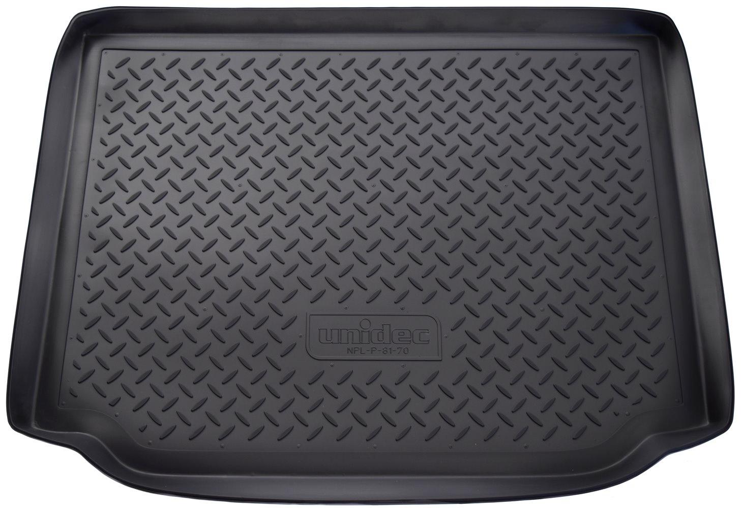Коврик багажника для Skoda Roomster (5J) (2006)NPL-P-81-70Точное прилегание Без неприятного запаха Высокие бортики Не скользятПодходит на:SKODA Roomster 2010-2015SKODA Roomster 2006-2010Полиуретановые автомобильные коврики фирмы «Норпласт» надежно защищают обшивку салона и багажника от влаги и загрязнений. Это высококачественное изделие, которое гарантированно прослужит длительный срок. Каждый комплект ковриков производится индивидуально для определённой модели автомобиля. На этапе разработки изделий применяется технология 3D сканирования салона, благодаря чему, каждый коврик имеет оригинальную форму, которая точно повторяет контур пола или багажного отделения автомобиля.