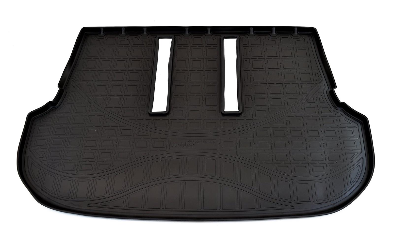 Коврик багажника для Toyota Fortuner (2015) (7 мест) (разложенный 3 ряд) коврик для 7 мест ряд norplast npa00c31521