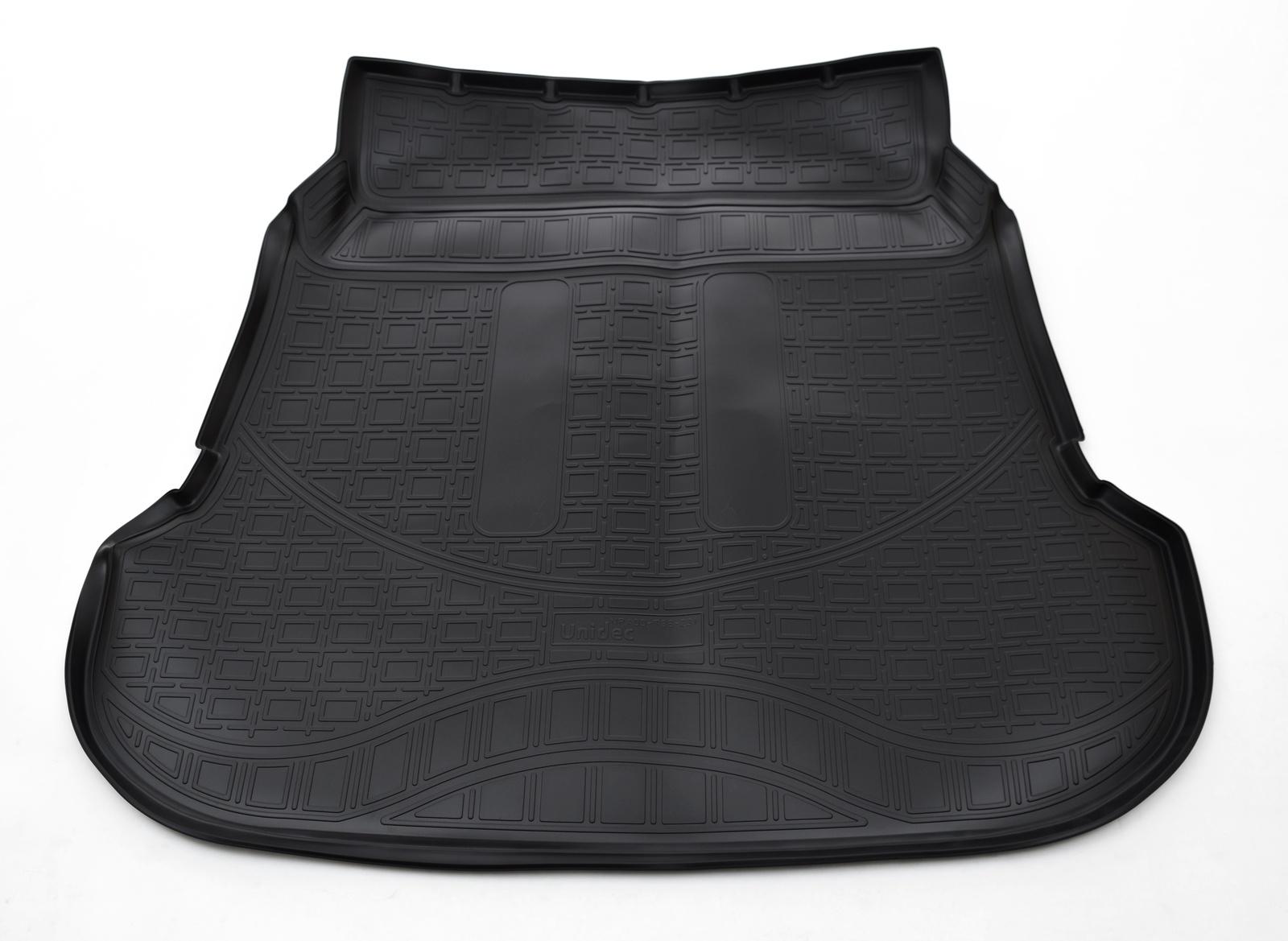 Коврик багажника для Toyota Fortuner (2015) (7 мест) (сложенный 3 ряд) коврик для 7 мест ряд norplast npa00c31521