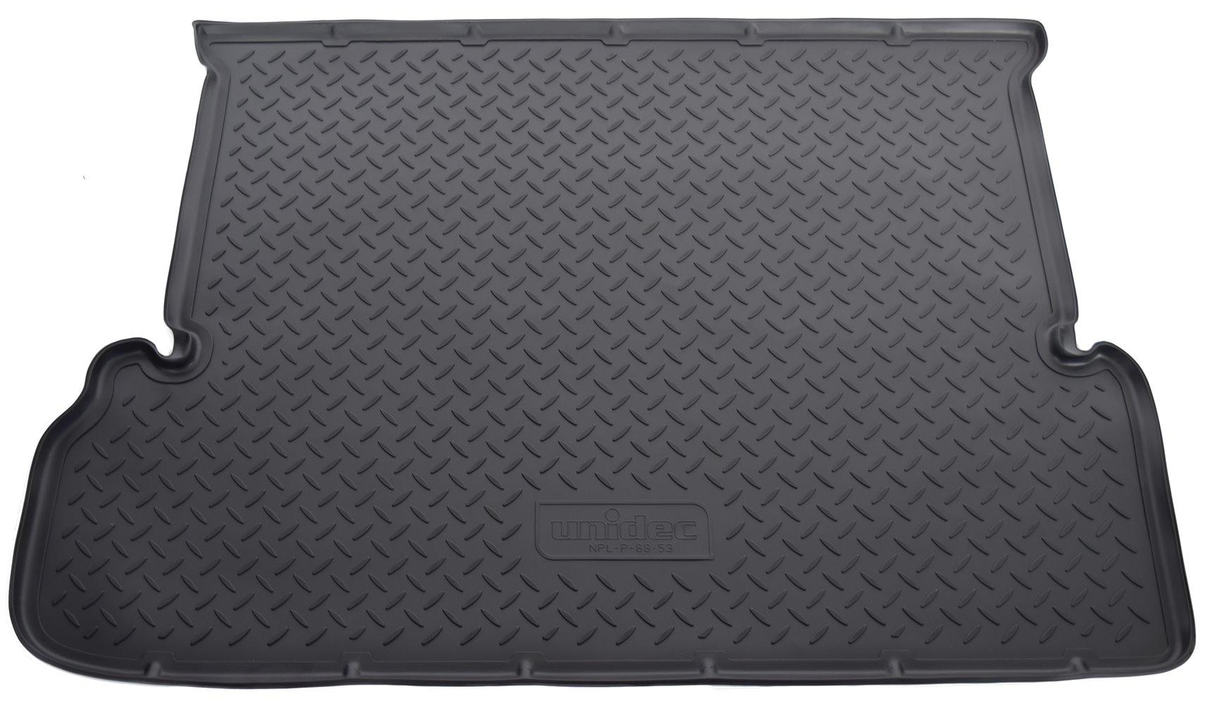 Коврик багажника для Toyota LC-150 Prado (J150) (2010) (7 мест) комплект ковриков в салон автомобиля klever toyota land cruiser 150 2013 2015 2015 standard