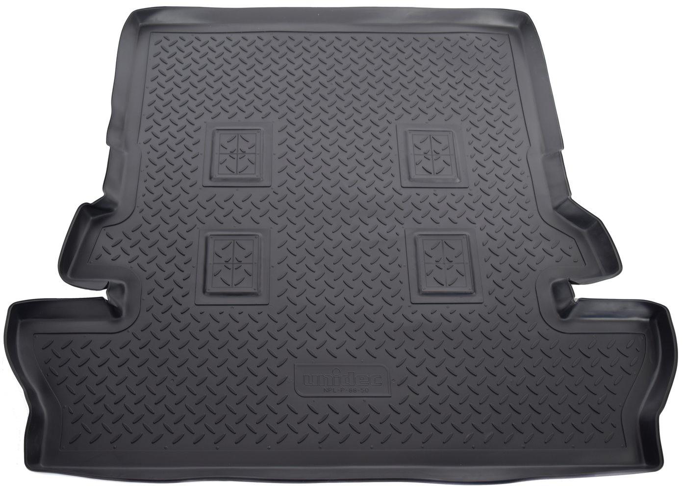 Коврик багажника для Toyota LC-200 (J20A) (2007) (7 мест) цены онлайн