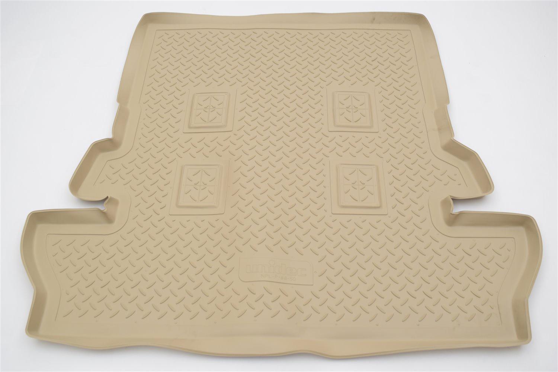 Коврик багажника для Toyota LC-200 (J20A) (2007) (7 мест) (бежевый) цены онлайн