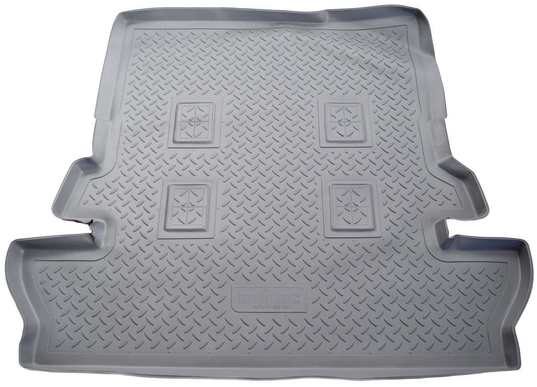 Коврик багажника для Toyota LC-200 (J20A) (2007) (7 мест) (серый) цены онлайн