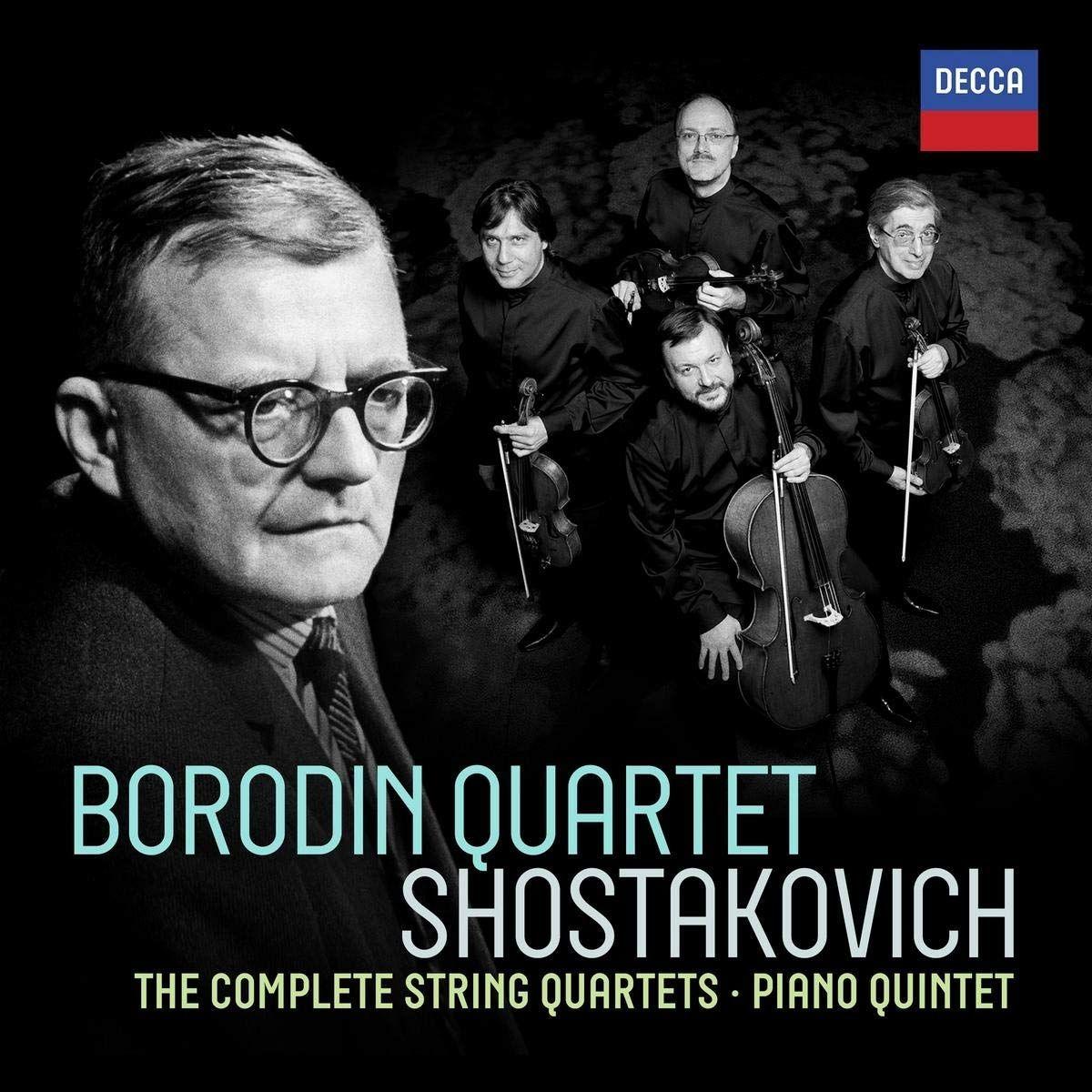 Дмитрий Шостакович Borodin Quartet. Shostakovich. Complete String Quartets a reichel string quartet in c major op 8
