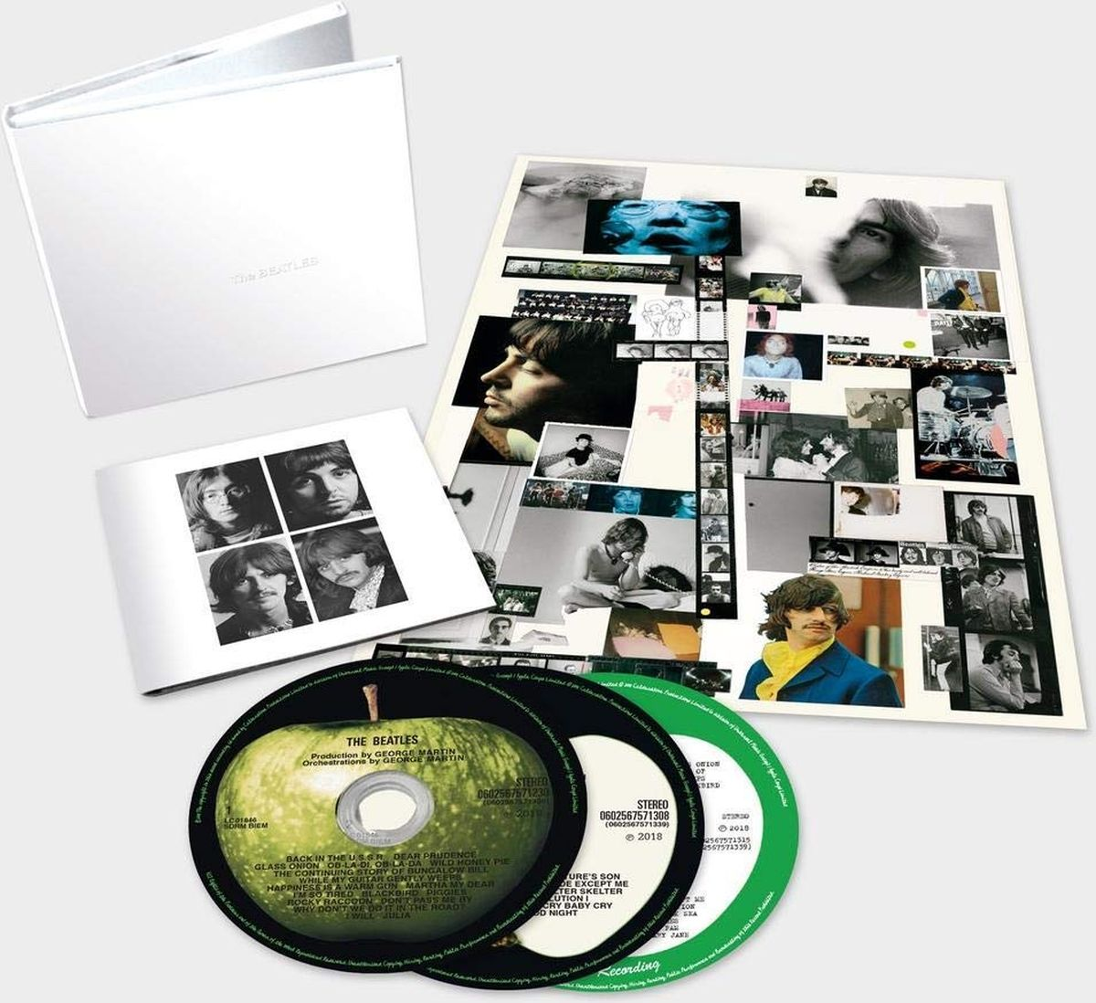The Beatles The Beatles. White Album. Deluxe Edition (3 CD) koda ram page demo