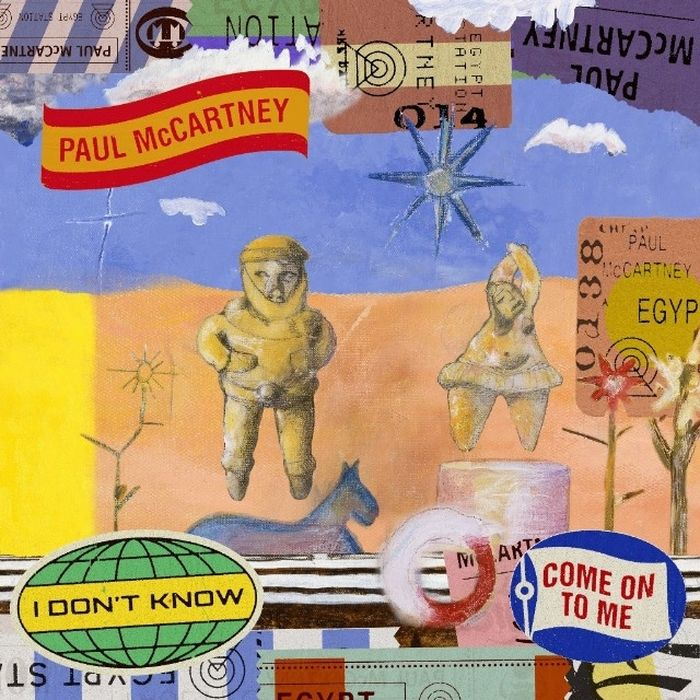 Пол Маккартни Paul McCartney. I Don't Know / Come On To Me (LP)